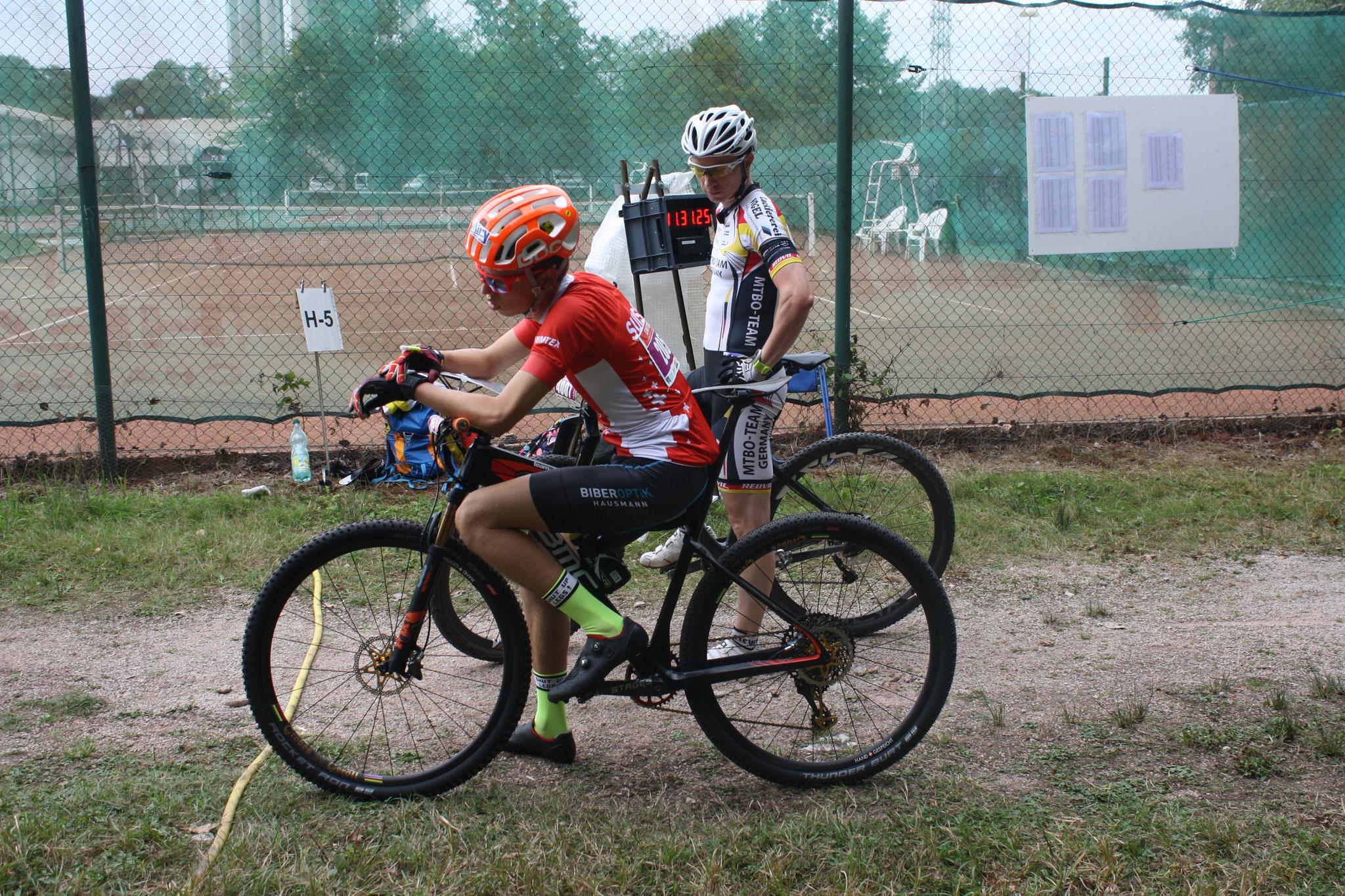 Start Long distance race (Thomas Jäggi)