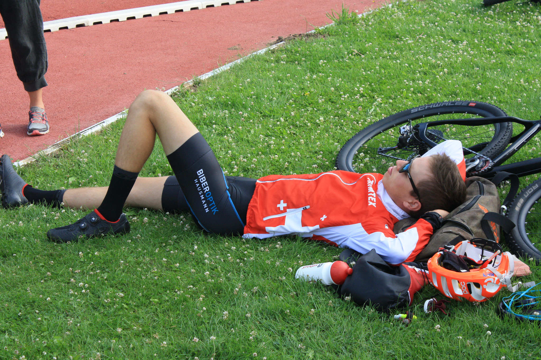 Serious preparation for the Sprint (Thomas Jäggi)
