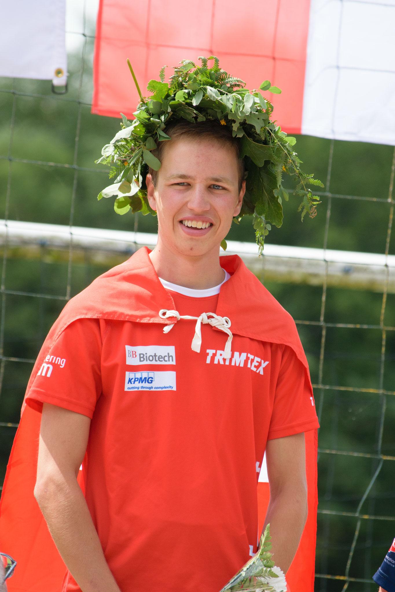 Flower ceremony Mitteldistanz (Beat Schaffner)