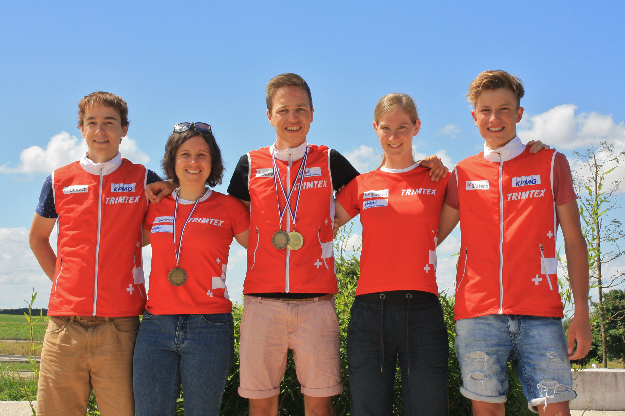 The Swiss Team at the European champs! (Thomas Jäggi)