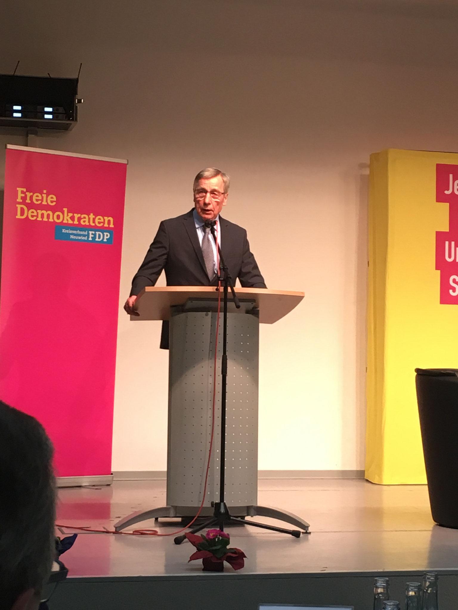 Wolfgang Clement (Ministerpräsident NRW a.D.; Bundesminister Wirtschaft und Arbeit a.D.)