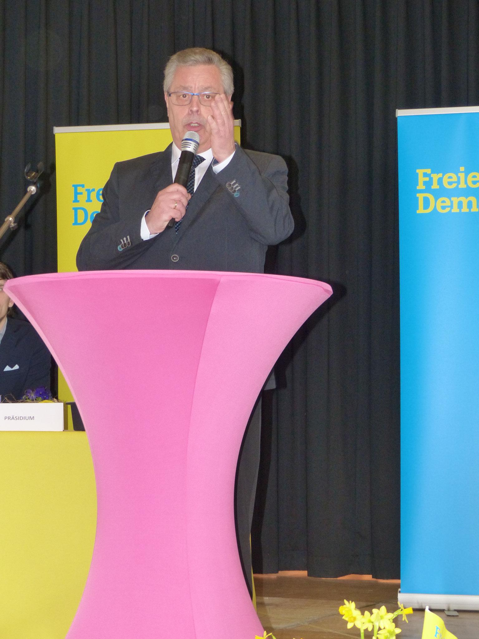 Schatzmeister Bernd Altmann