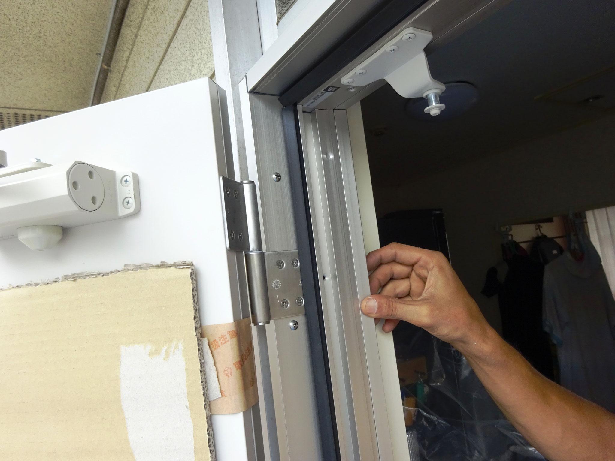 1 玄関ドアの交換
