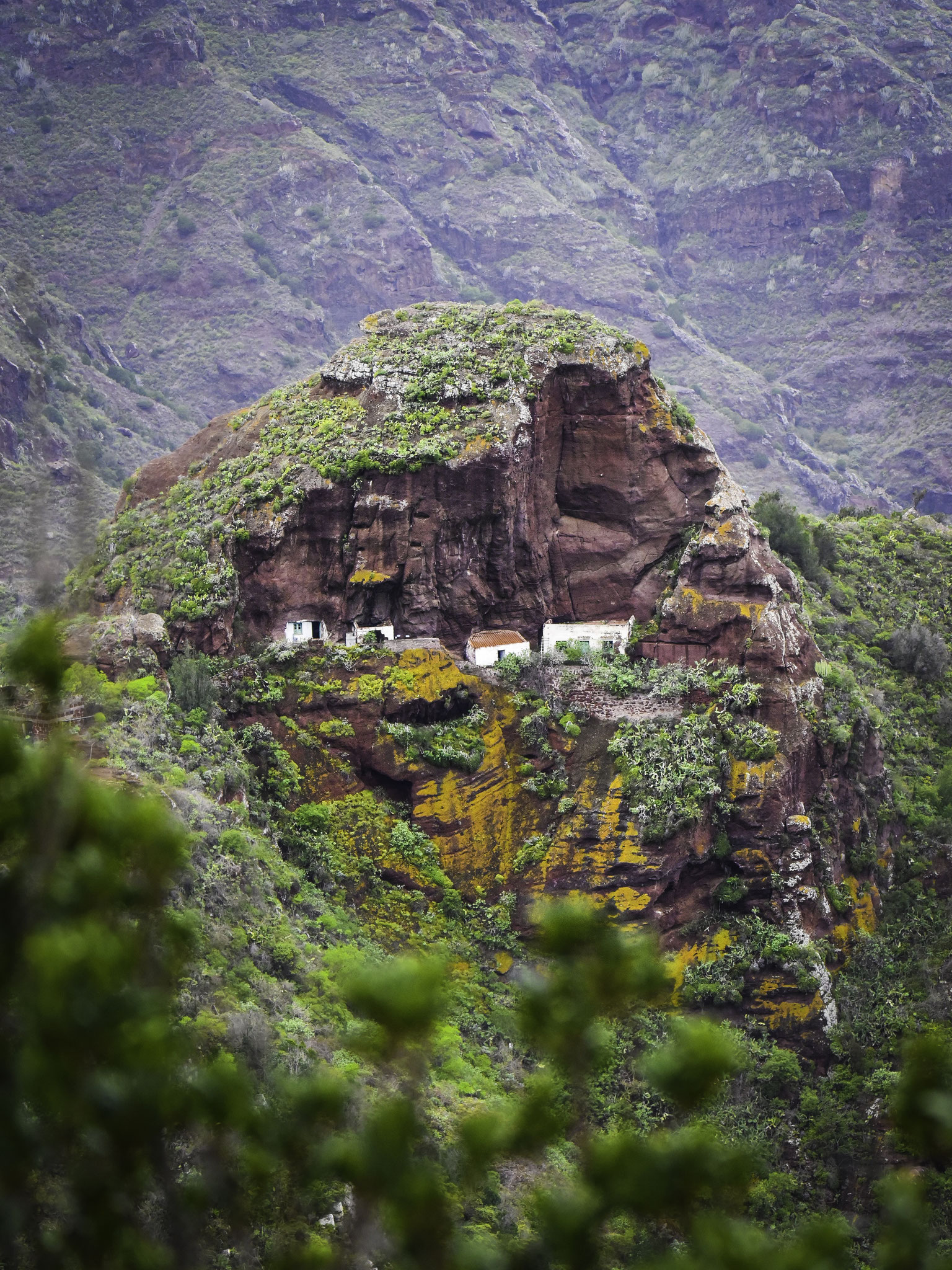 Small village in the mountains of Tenerife