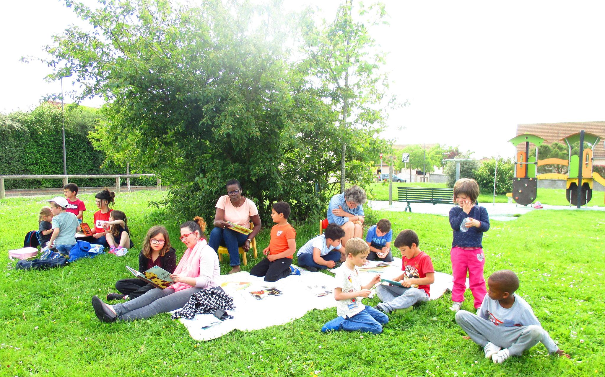 Lectures en plein air