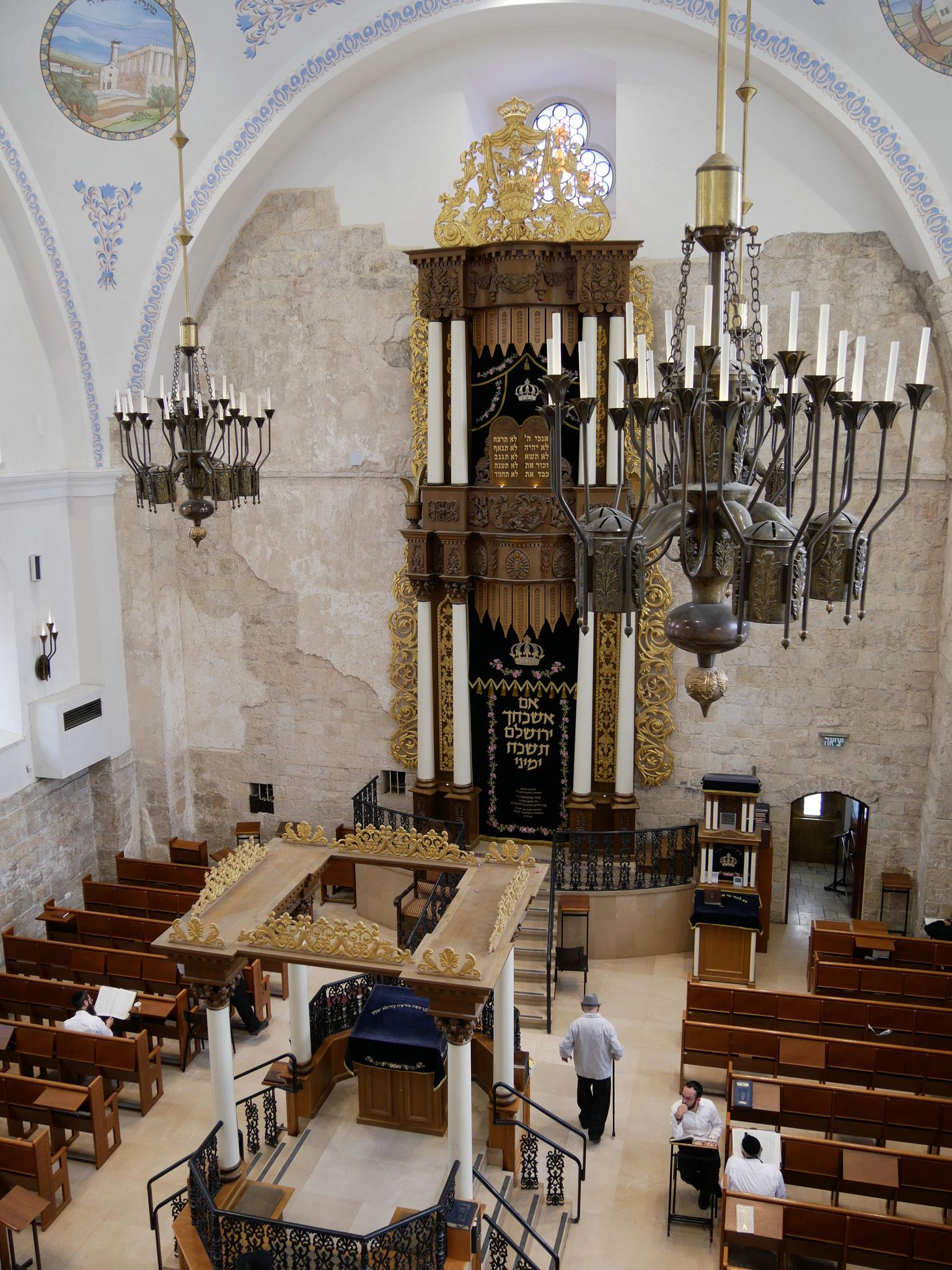 Die Hurva-Synagoge - Hauptsynagoge von Jerusalem