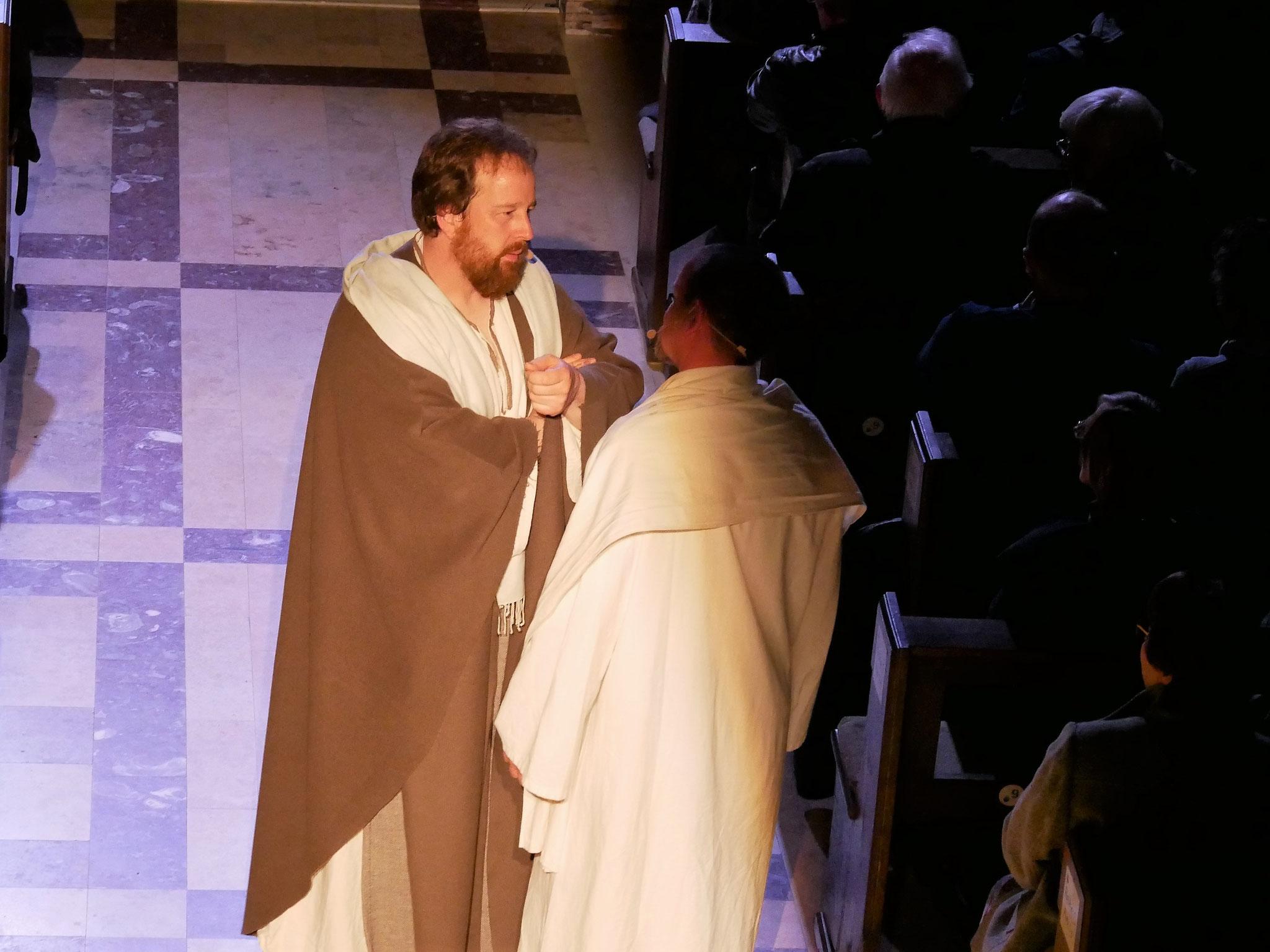 Judas verrät Jesus für 30 Silberlinge