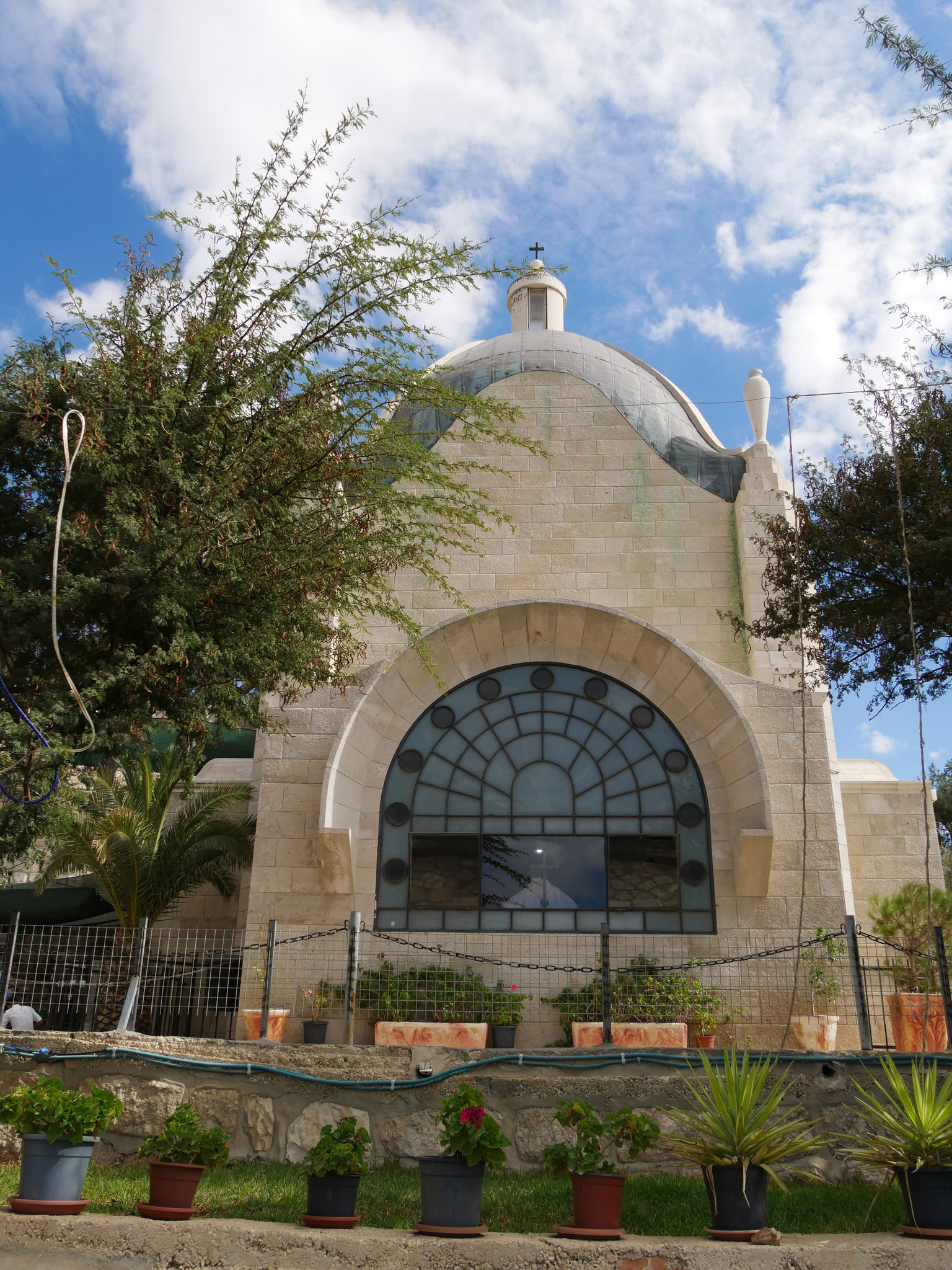 Kapelle Dominus flevit - Jesus weint