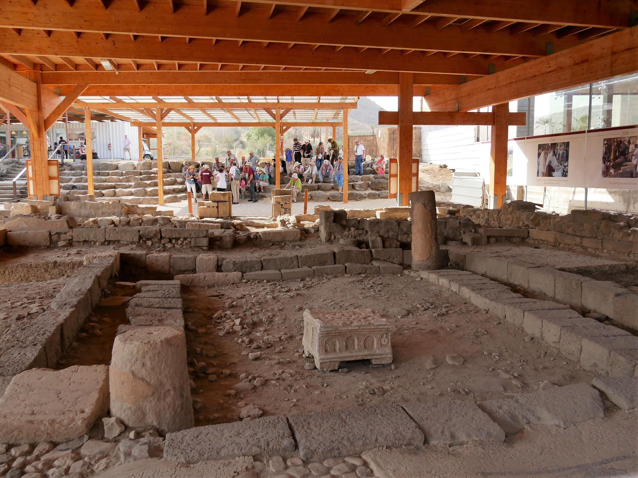 Ausgrabung der ältesten Synagoge