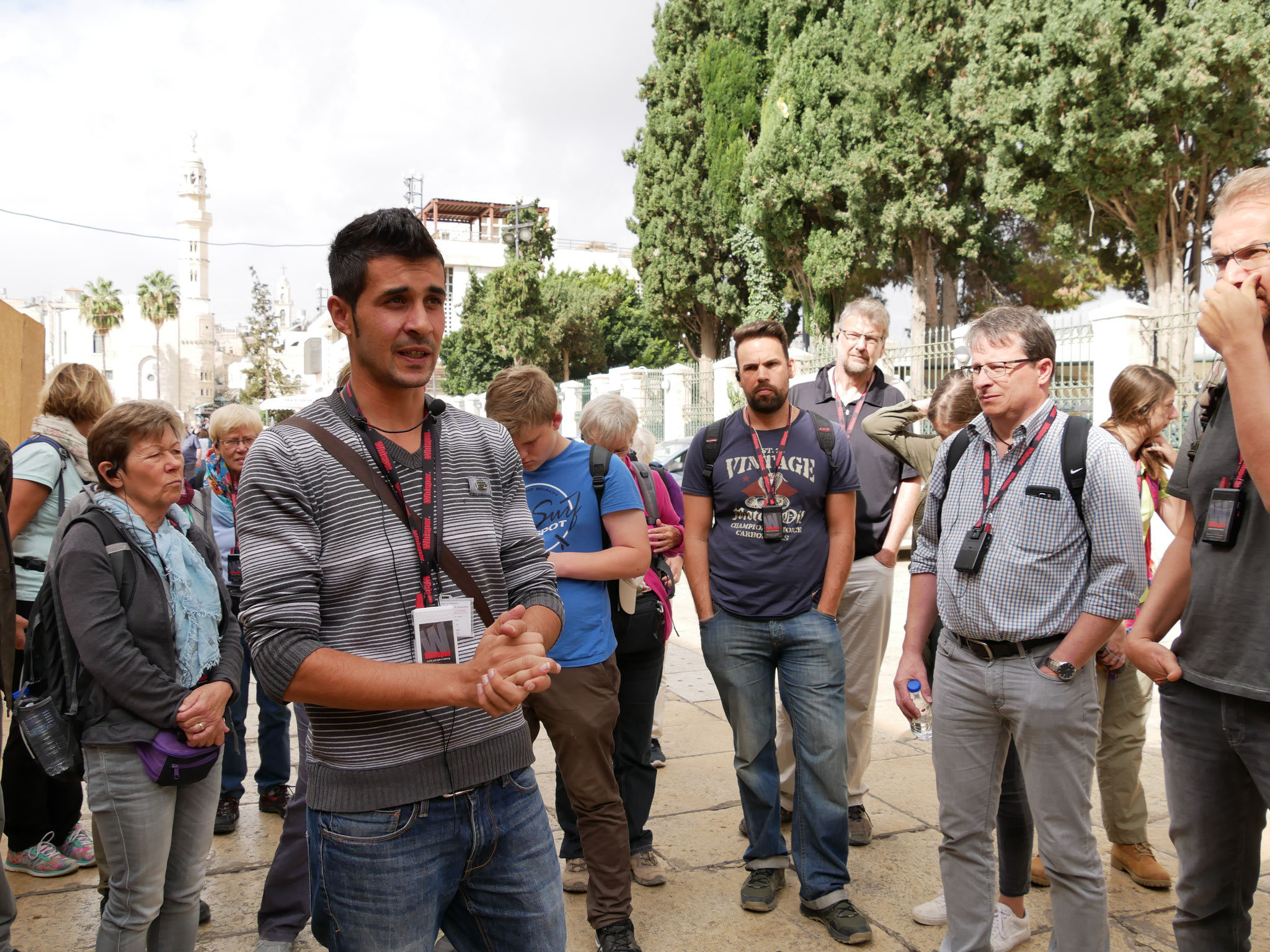 Unser Guide in Bethlehem