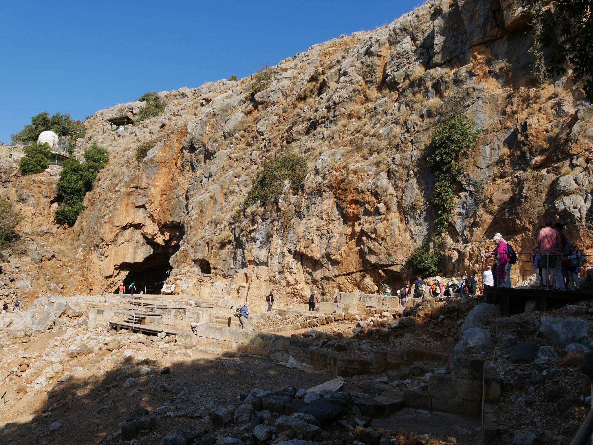Banias-Tempelanlage - Ceäserea Philippi