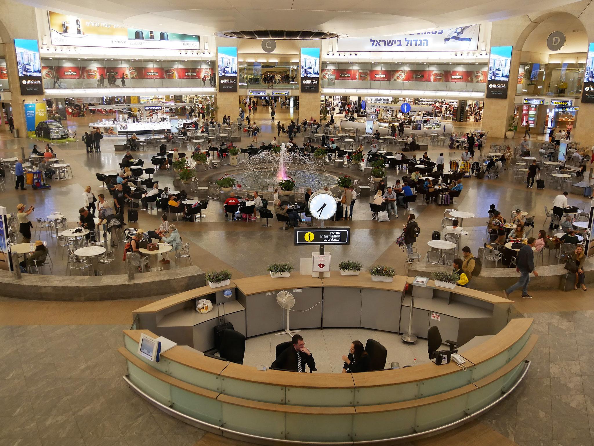 Flughafen Ben Gurion in Tel Aviv