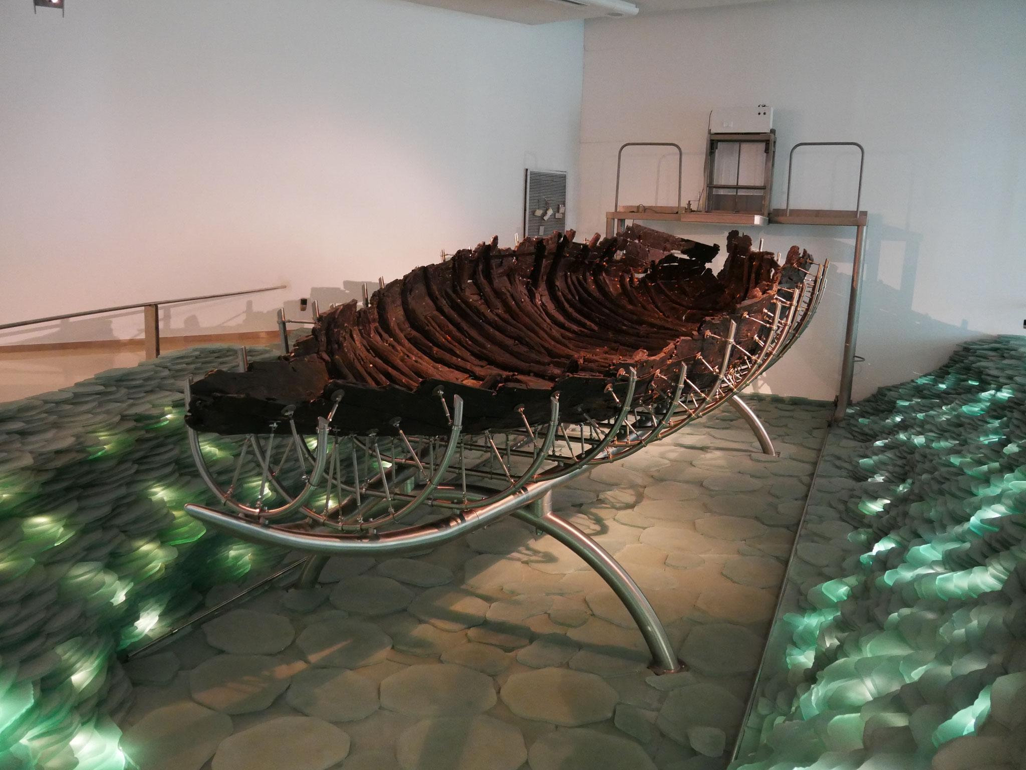 Das Galiläa-Boot - vor einigen Jahren geborgen