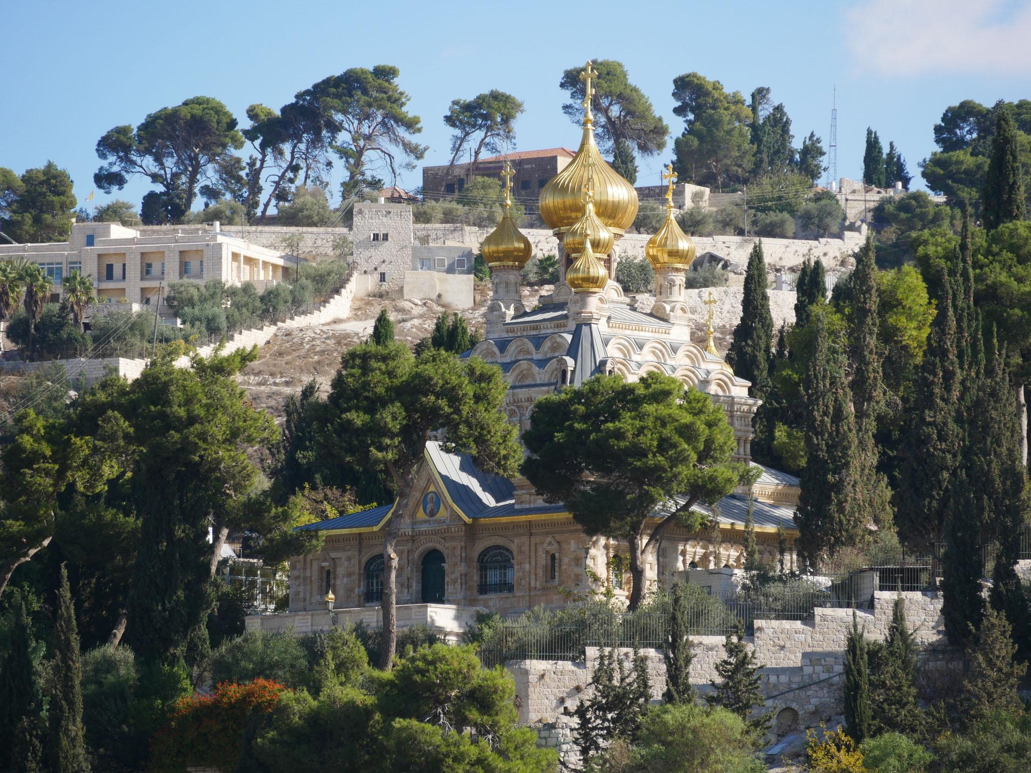 Die orthodoxe Magdalenenbasilika
