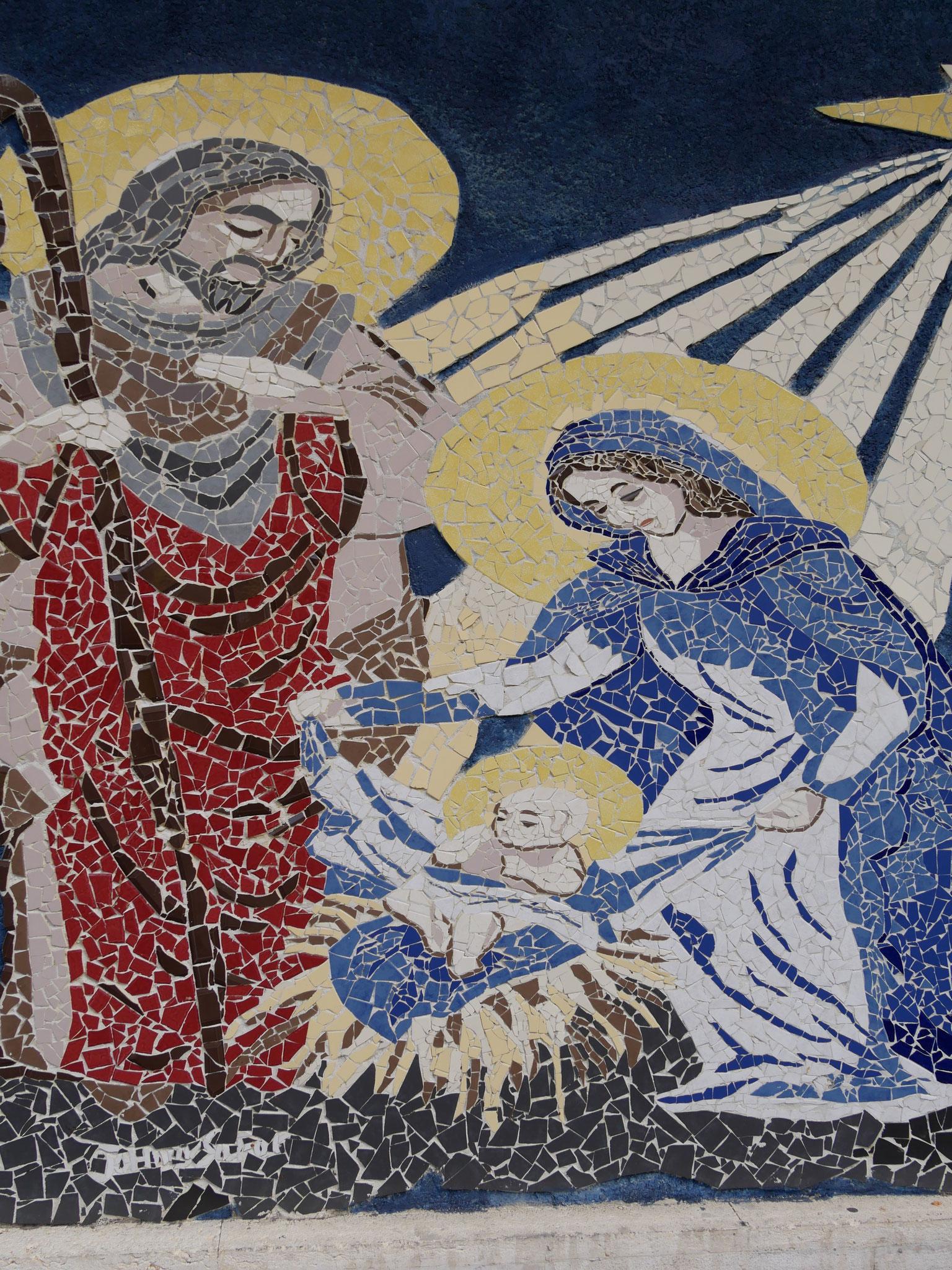 Ein Mosaik am Wegesrand