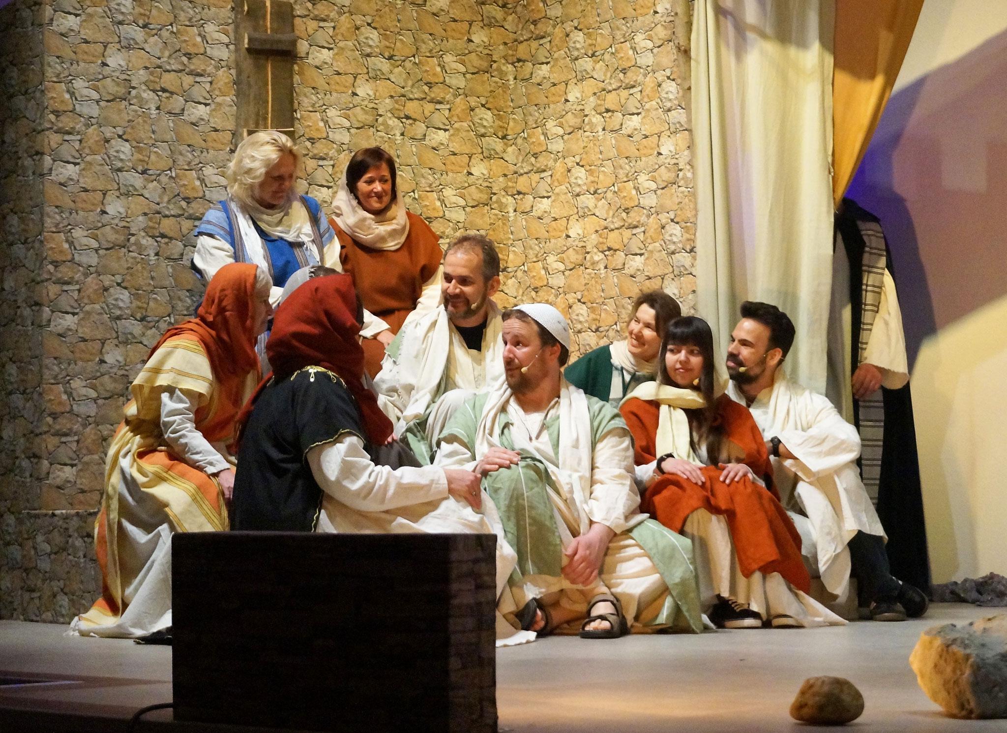 Paulus erzählt von Jesus