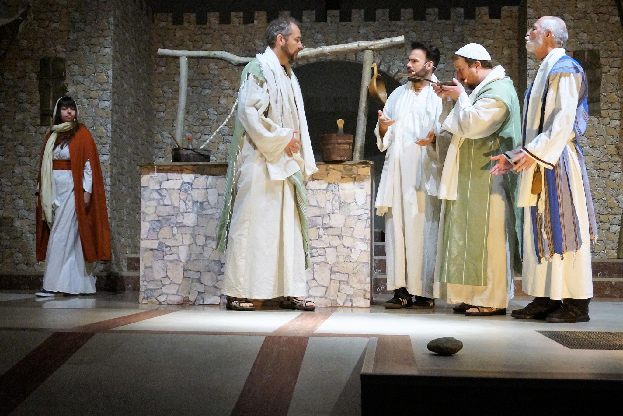 Paulus, Thimoteus (Hendrik Tigges), Silas (Matthias Hemmis)