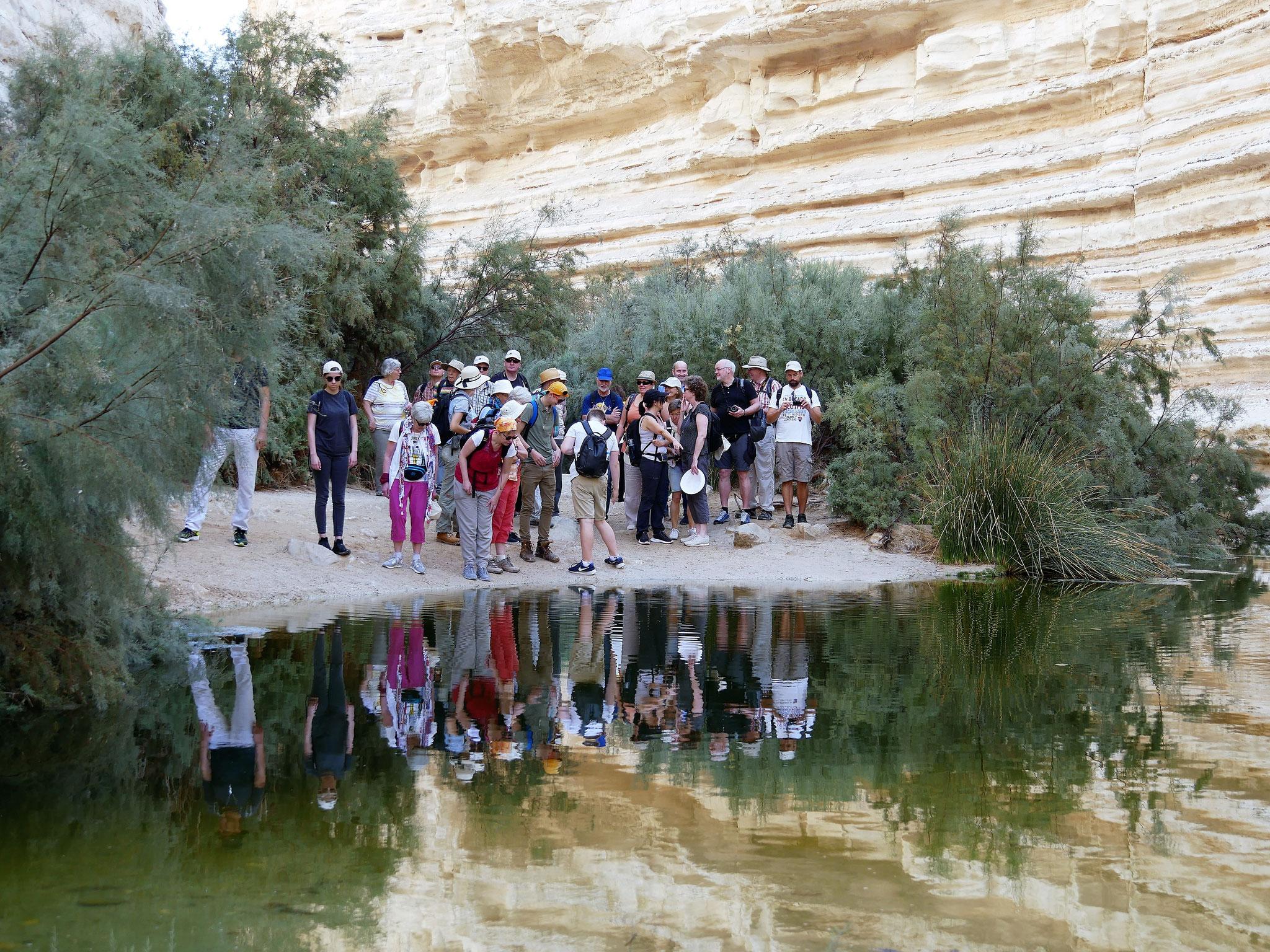 Wanderung im Wadi Zen