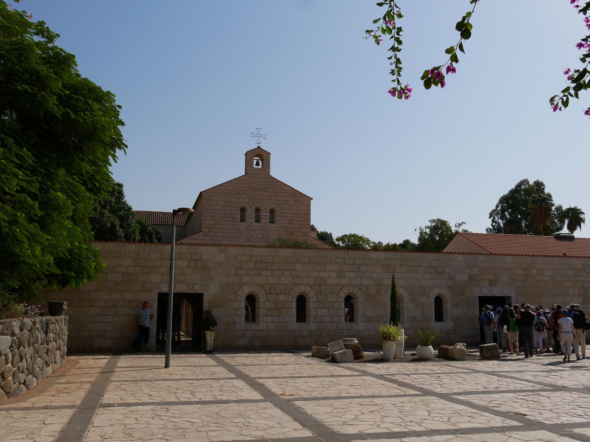 Brotvermehrungskirche in Tabgha