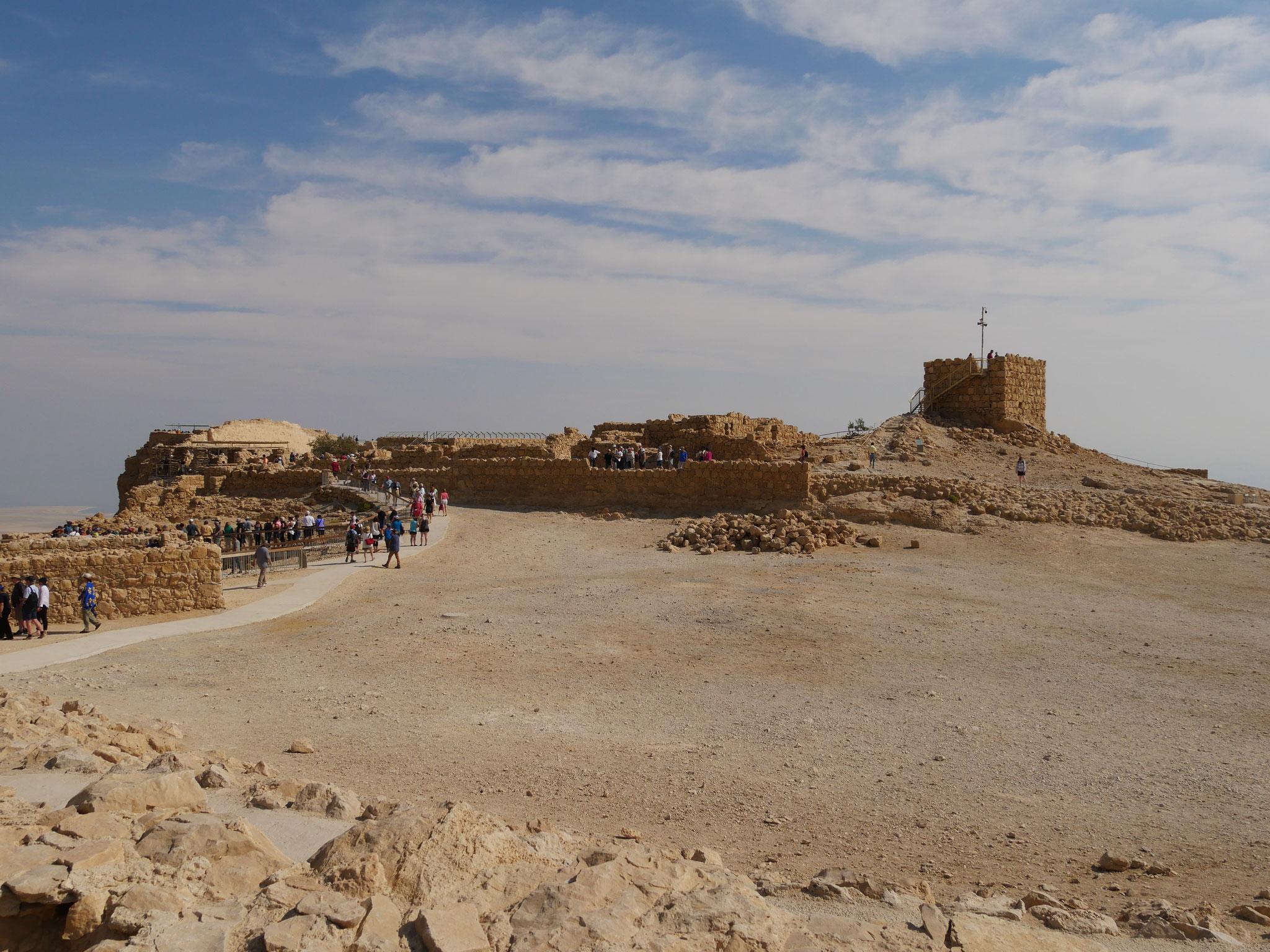 Massada  - Festung des Herodes