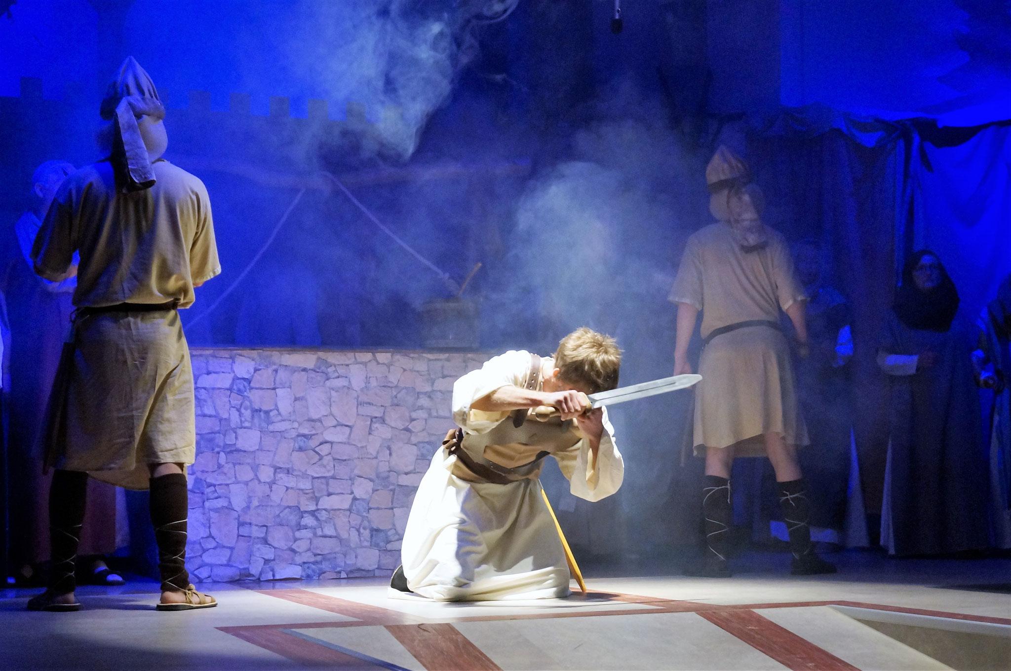 Saulus wird geblendet