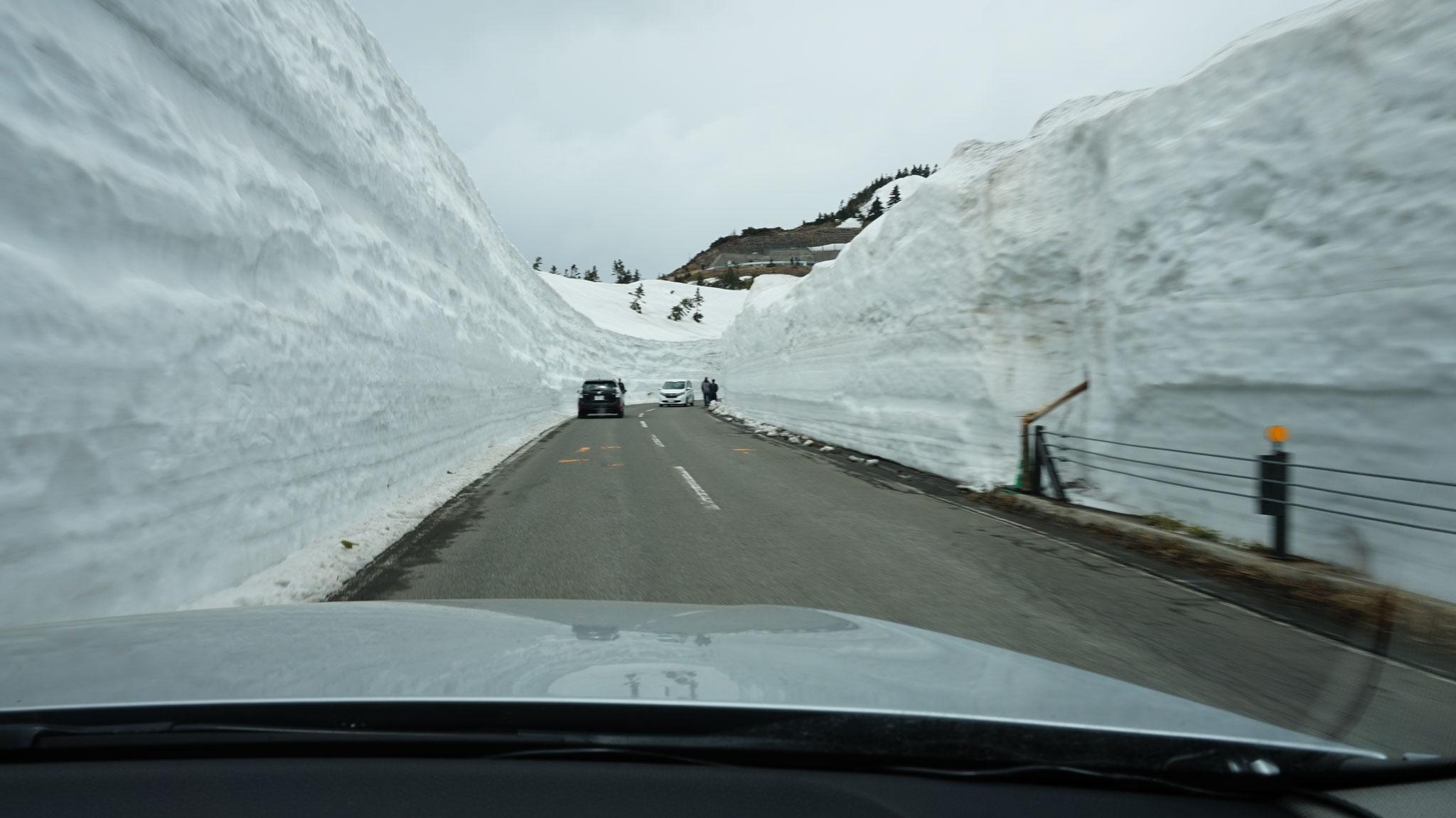 2017年4月21日雪の回廊