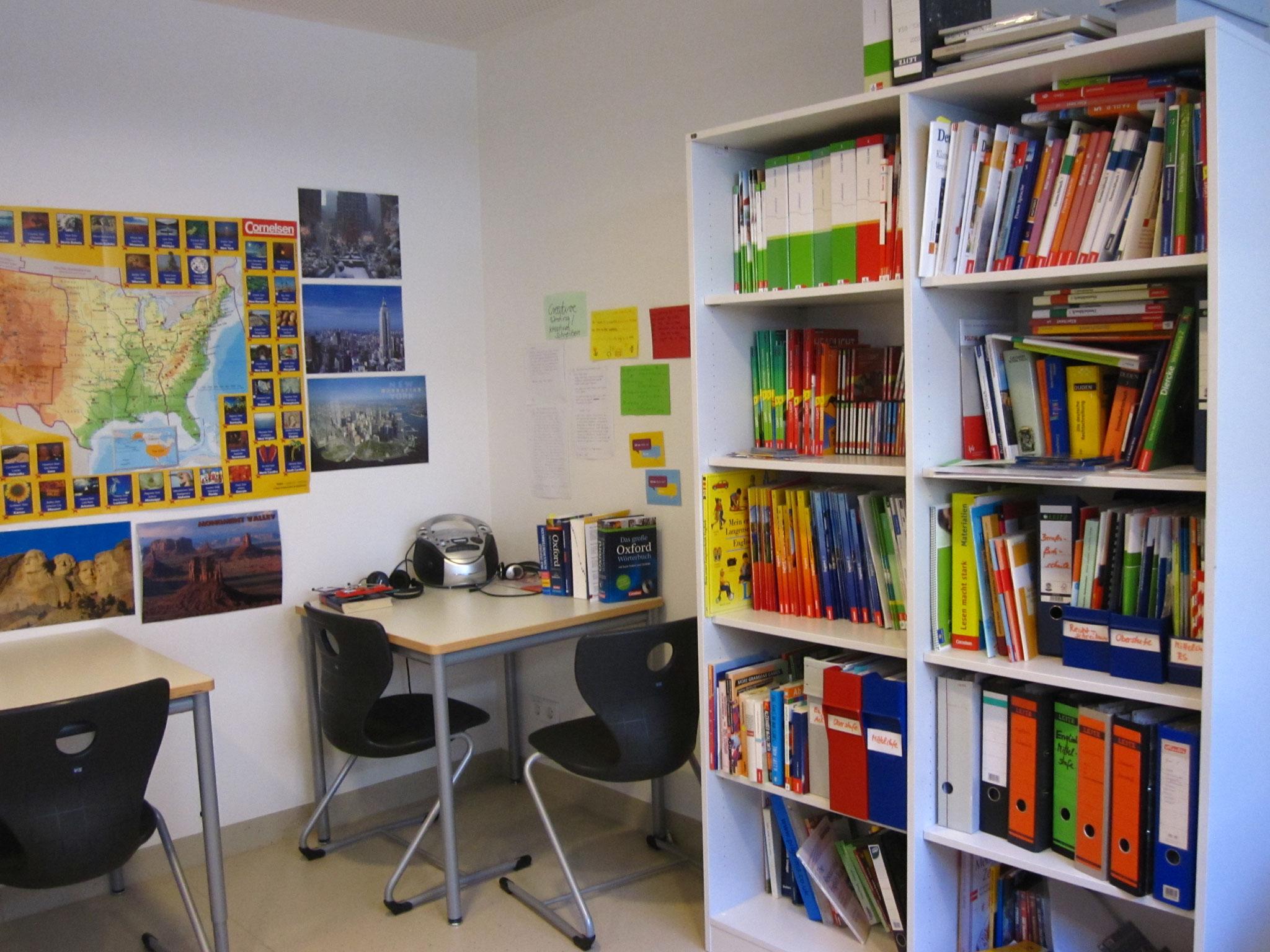 Klassenzimmer am SBBZ