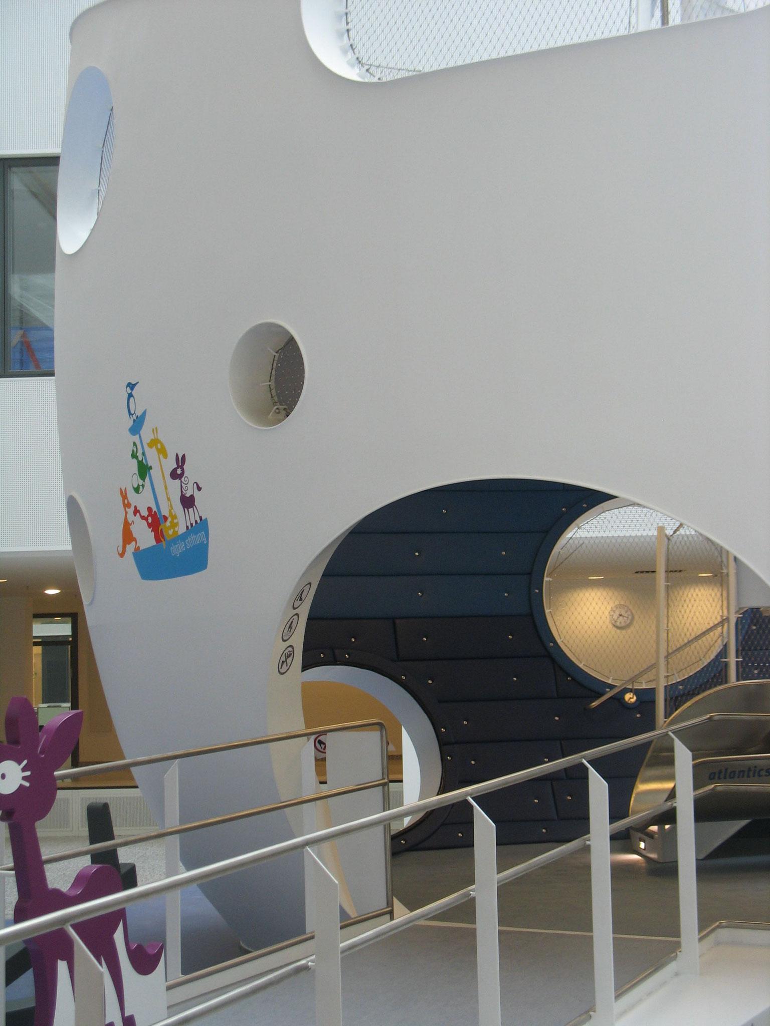 Eingangsbereich des Olahospitals