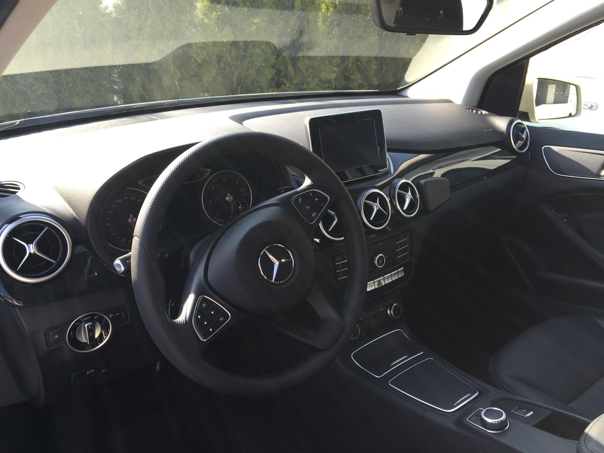 Mercedes B-Klasse, dass komfortable und wendige Taxi
