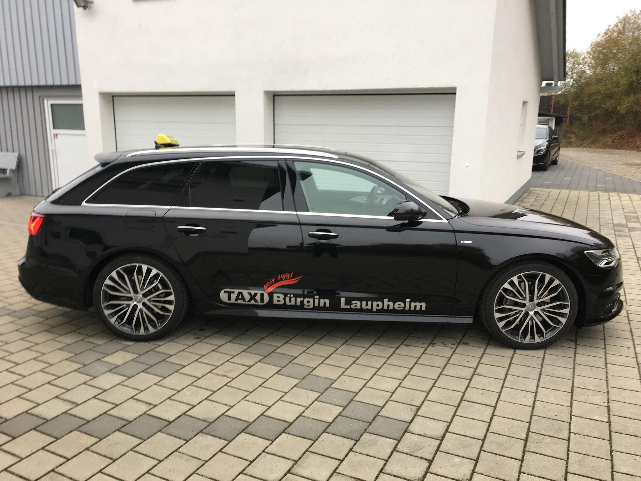Unsere Businesslimousine, der Audi A6 Avant