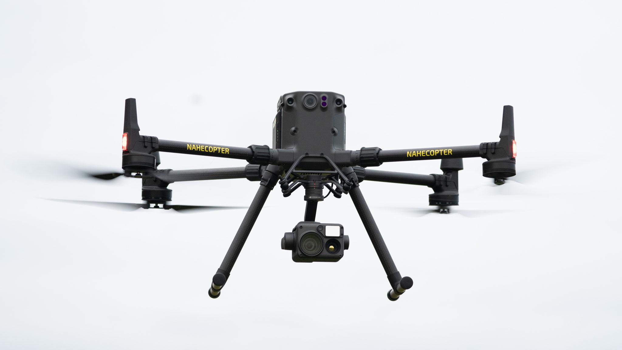DJI M300RTK Drohne mit 45 Minuten Flugzeit - auch bei Regen