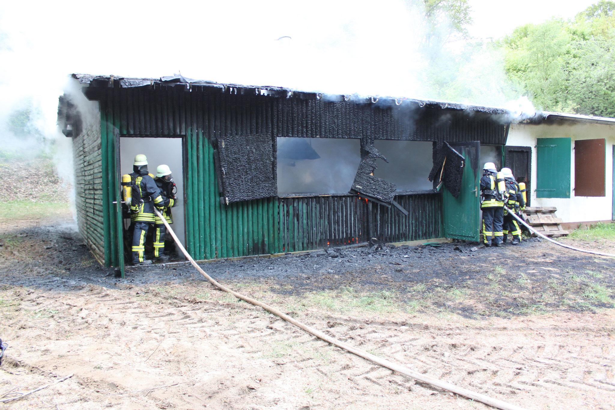 Brandeinsatz Mastershausen