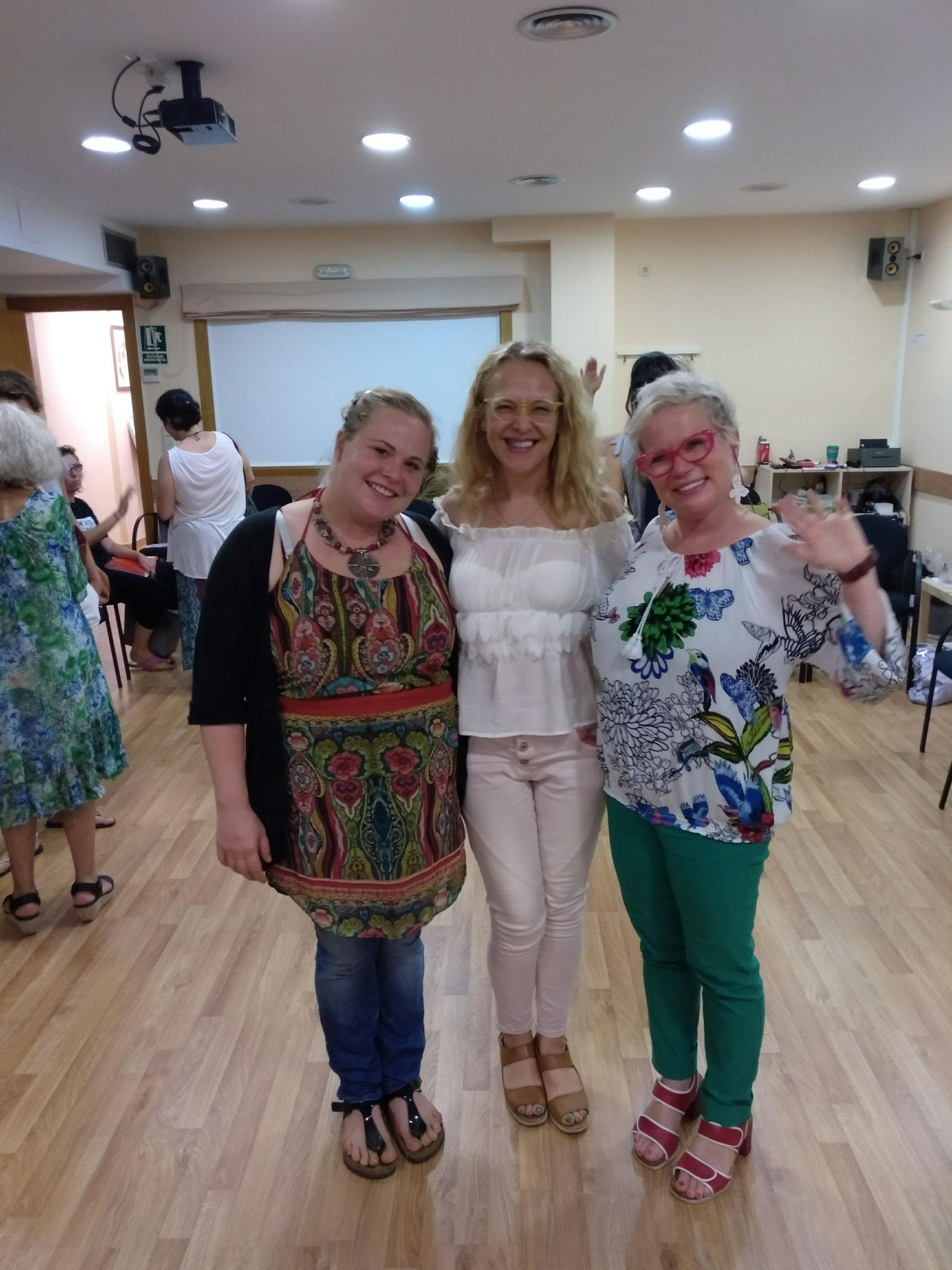 Jornada supervisión con Lola Siegmund y Cora Besser. Agosto'17