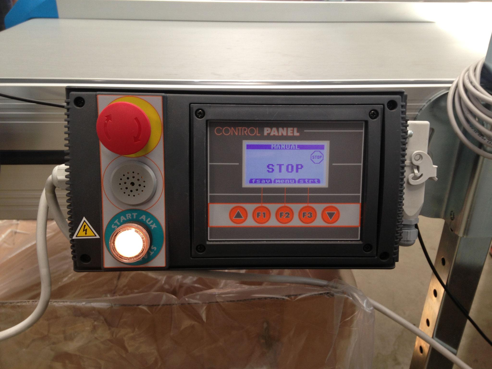 Control panel nastro