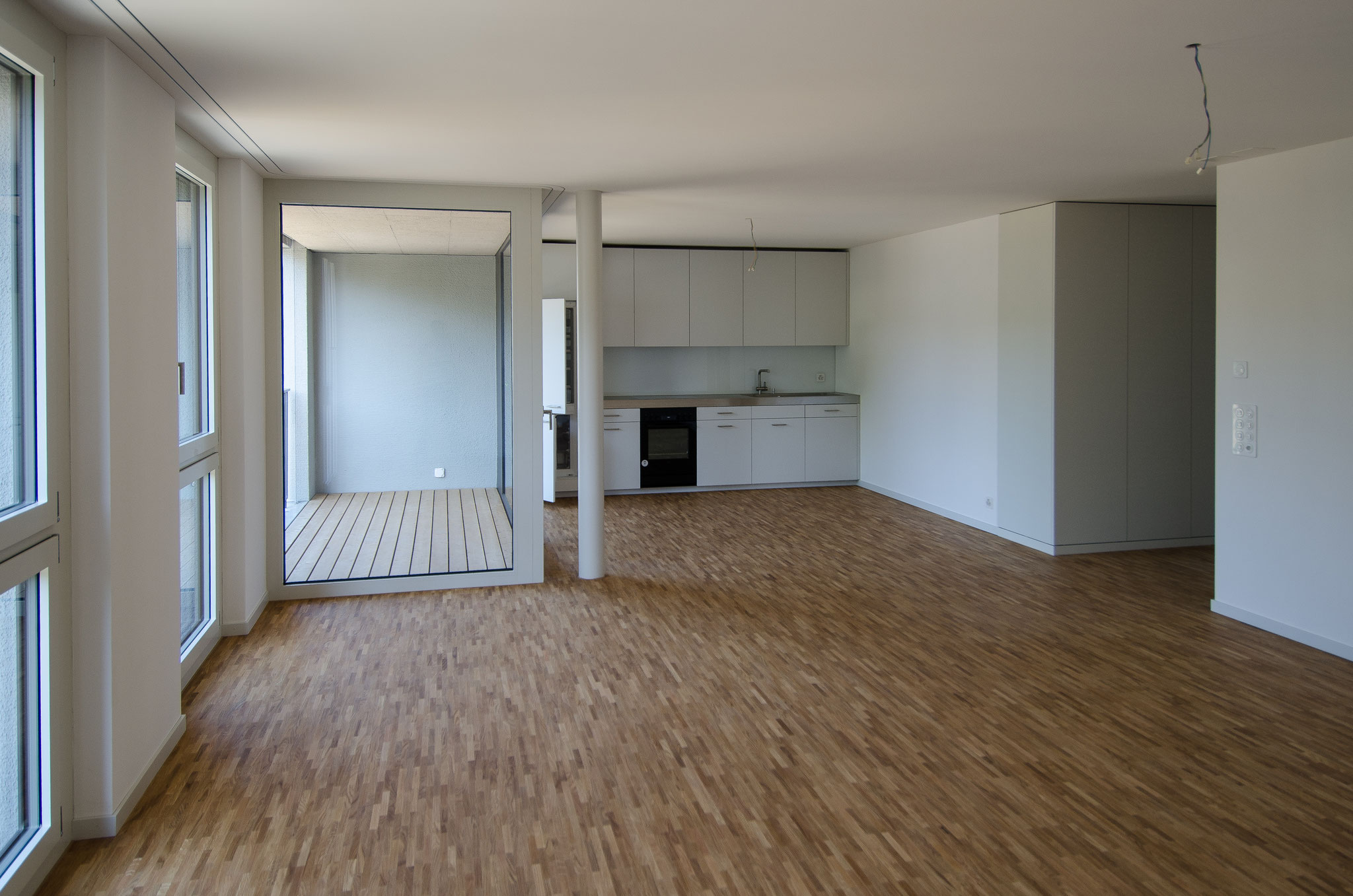 20. Mai 2020:  Die ersten Wohnungen sind gereinigt und präsentieren sich hell und geräumig...