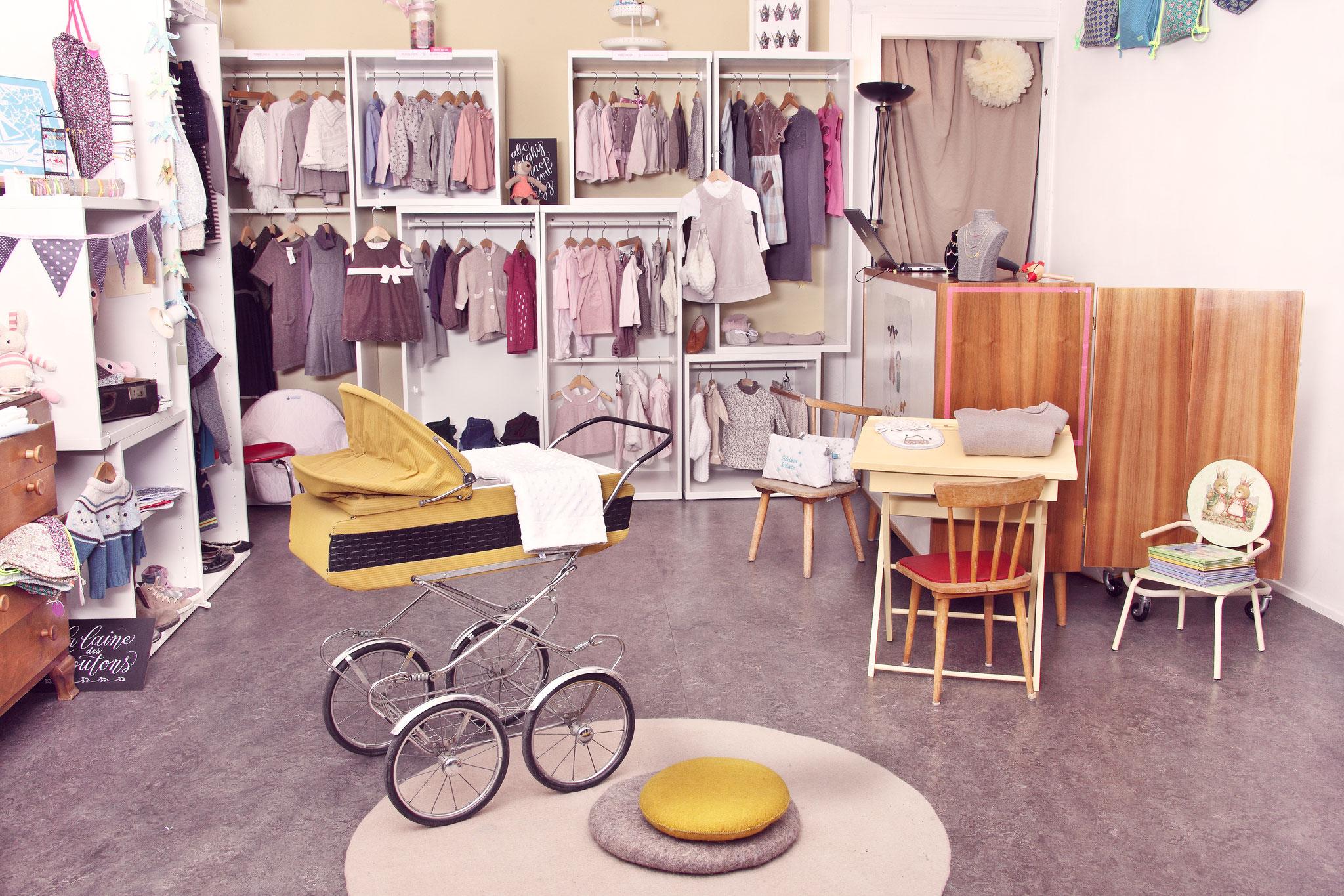 mode für kinder und baby-bekleidung mit stil: neu und second
