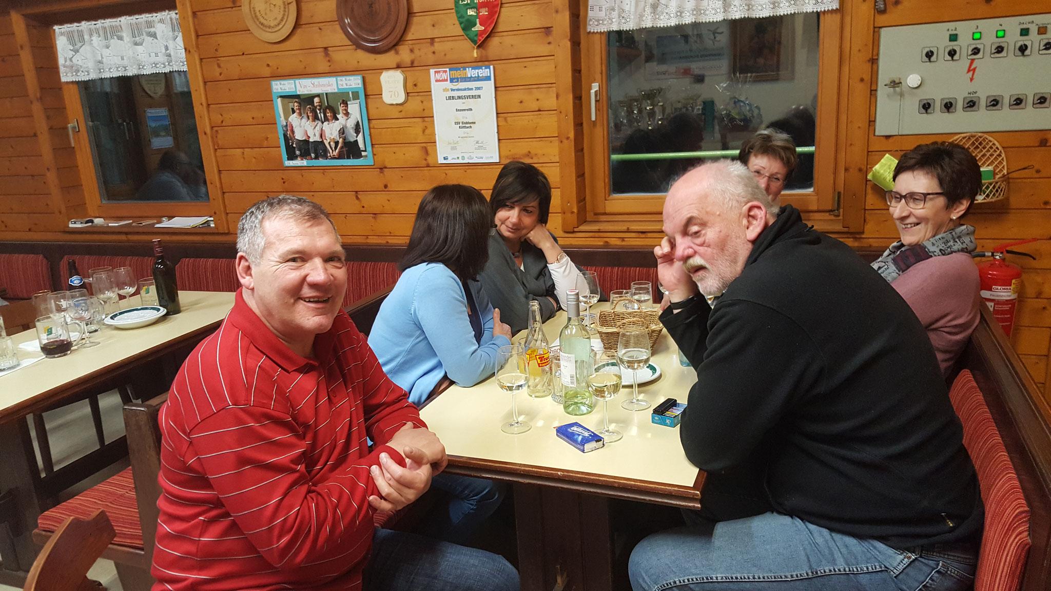 EISI's 80iger Feier , 22.2.2019 Vereinshütte