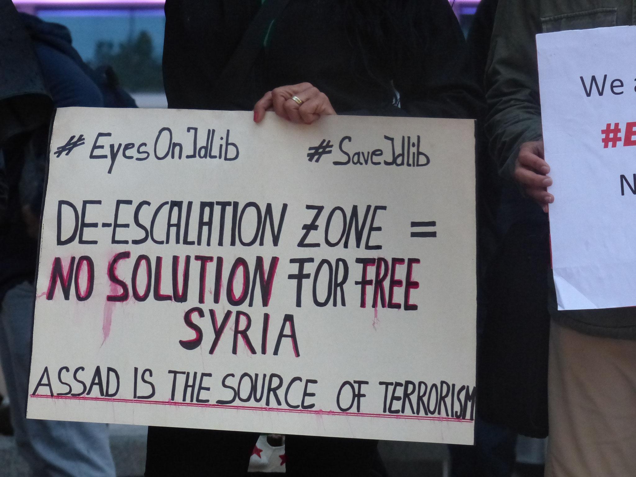 Eine entmilitarisierte Zone ist keine Lösung! - Photo: Jens-Martin Rode