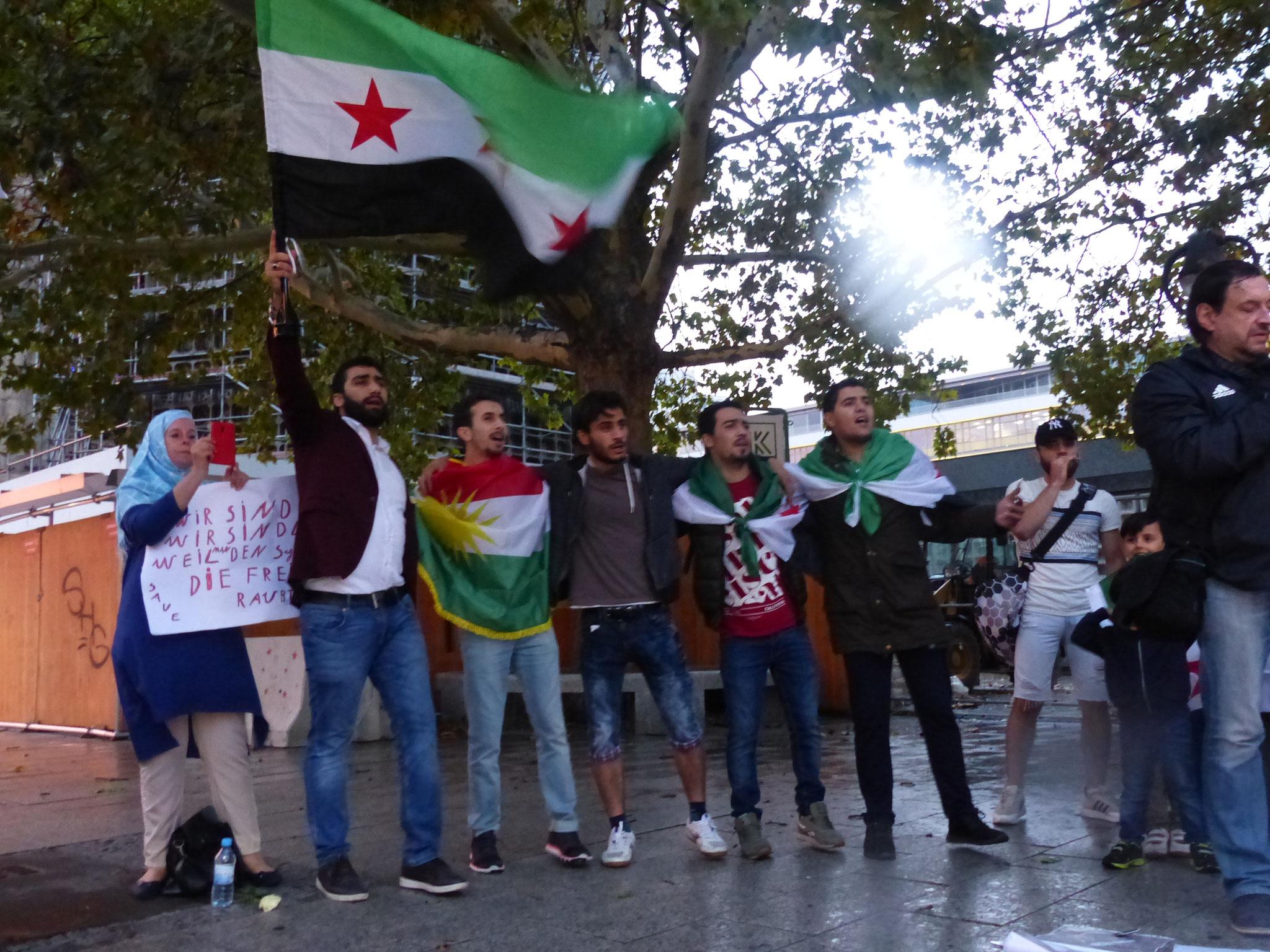 Freiheit für Syrien! - Photo: Jens-Martin Rode