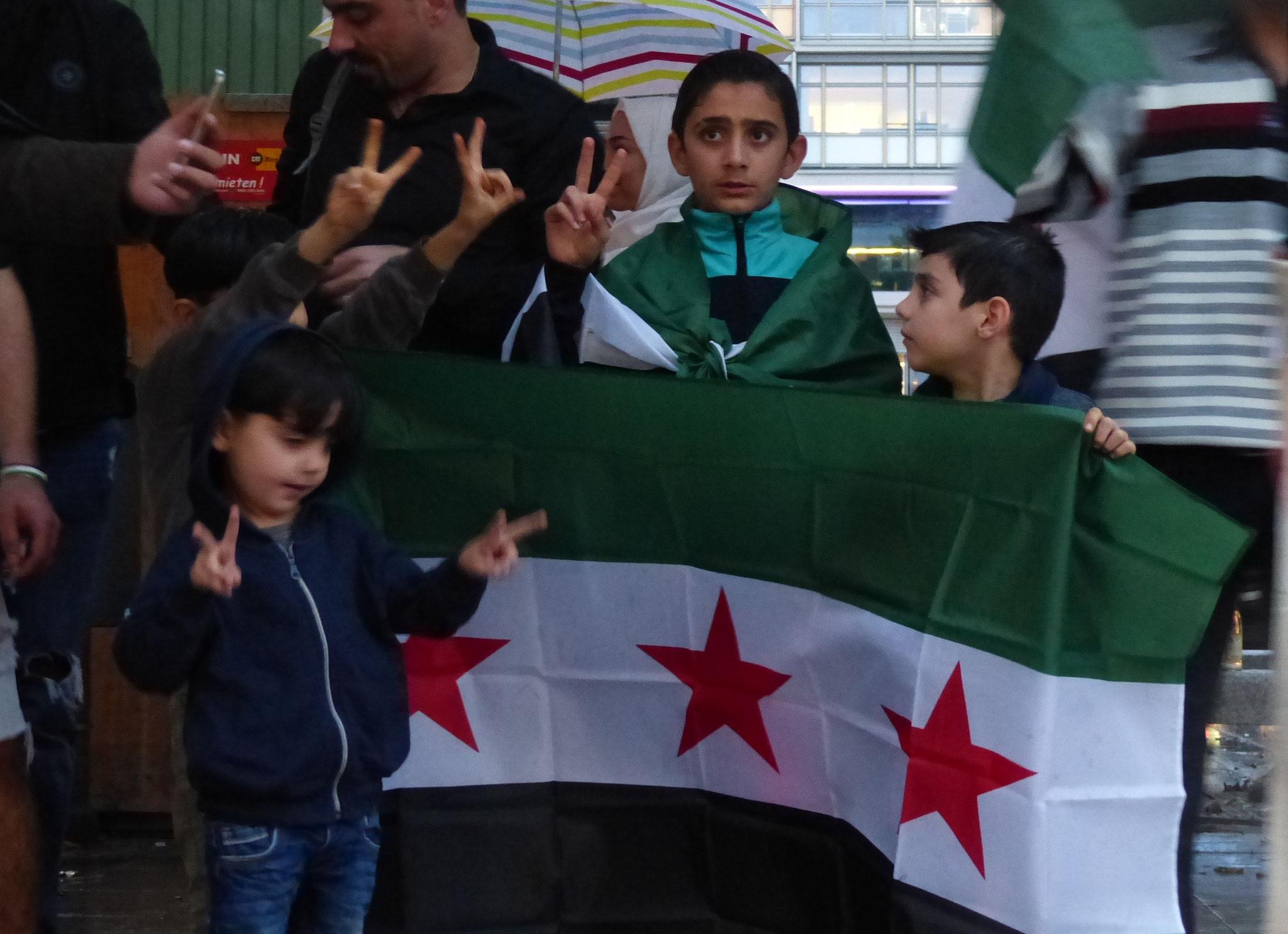 Freiheit und Gerechtigkeit für Syrien! - Photo: Jens-Martin Rode