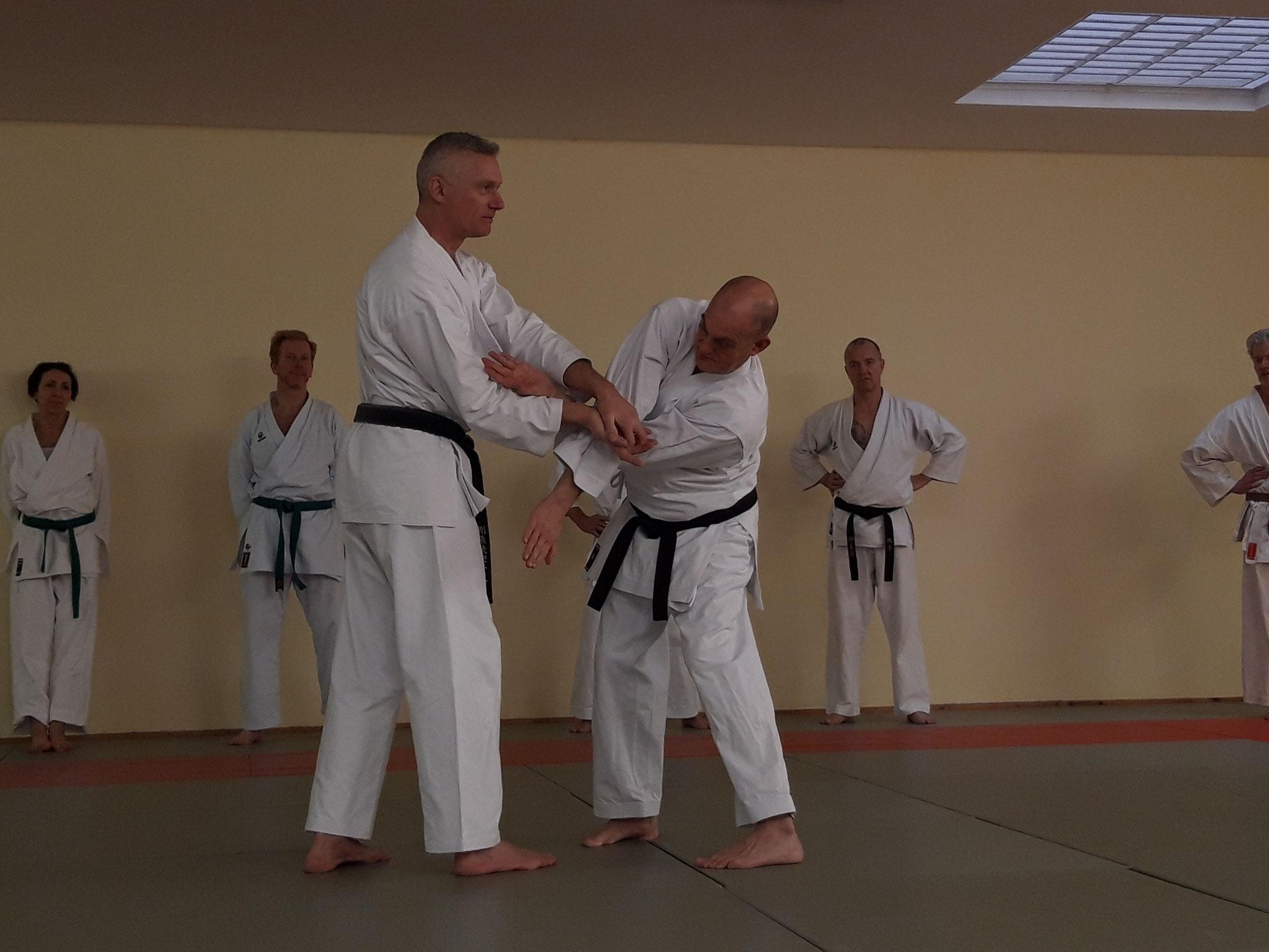 Training im Ronin Dojo mit Gerd Wegner und Thomas Neumann
