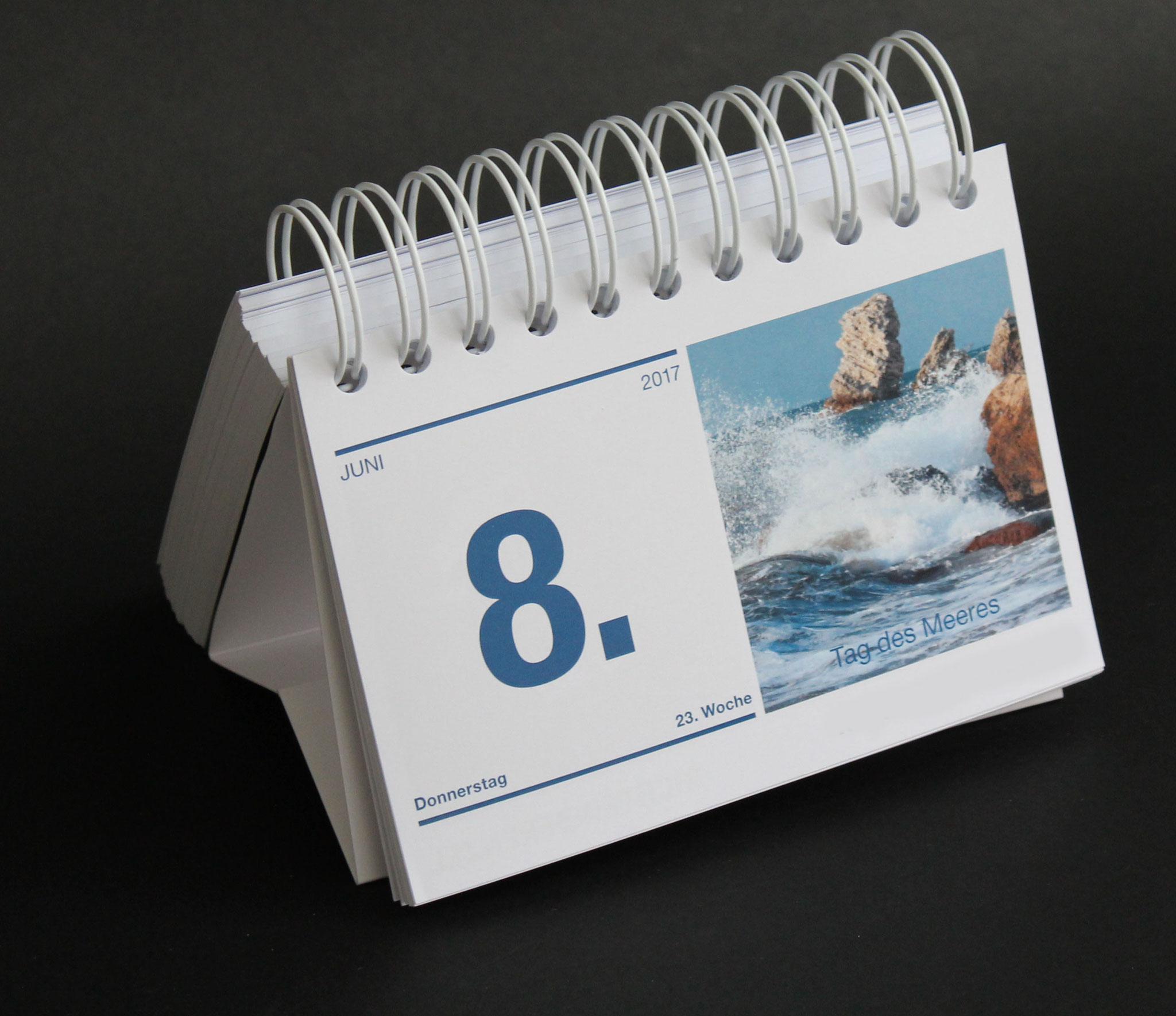 Individuelle Tischkalender
