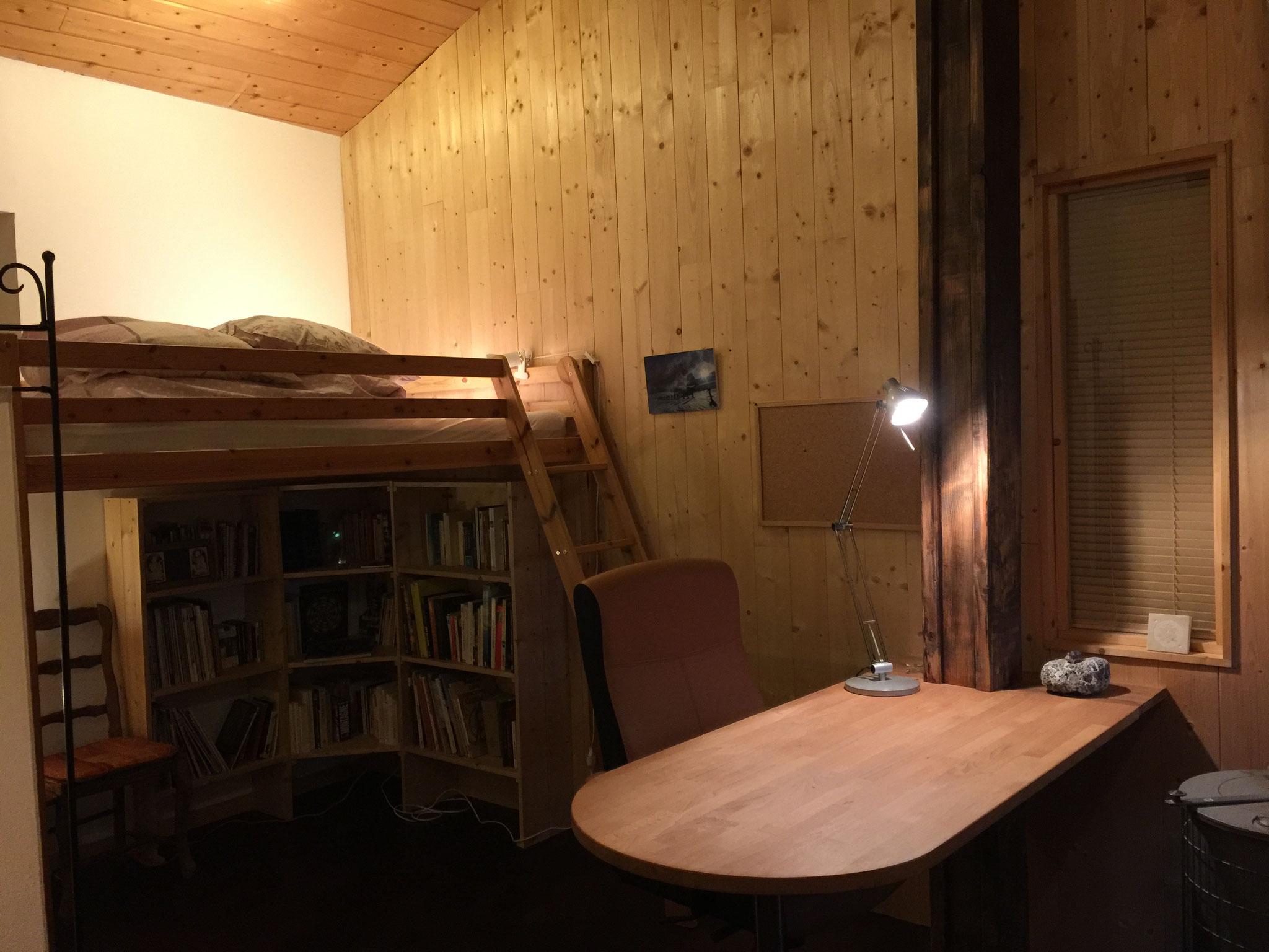 coin nuit-bureau chambre de Desse