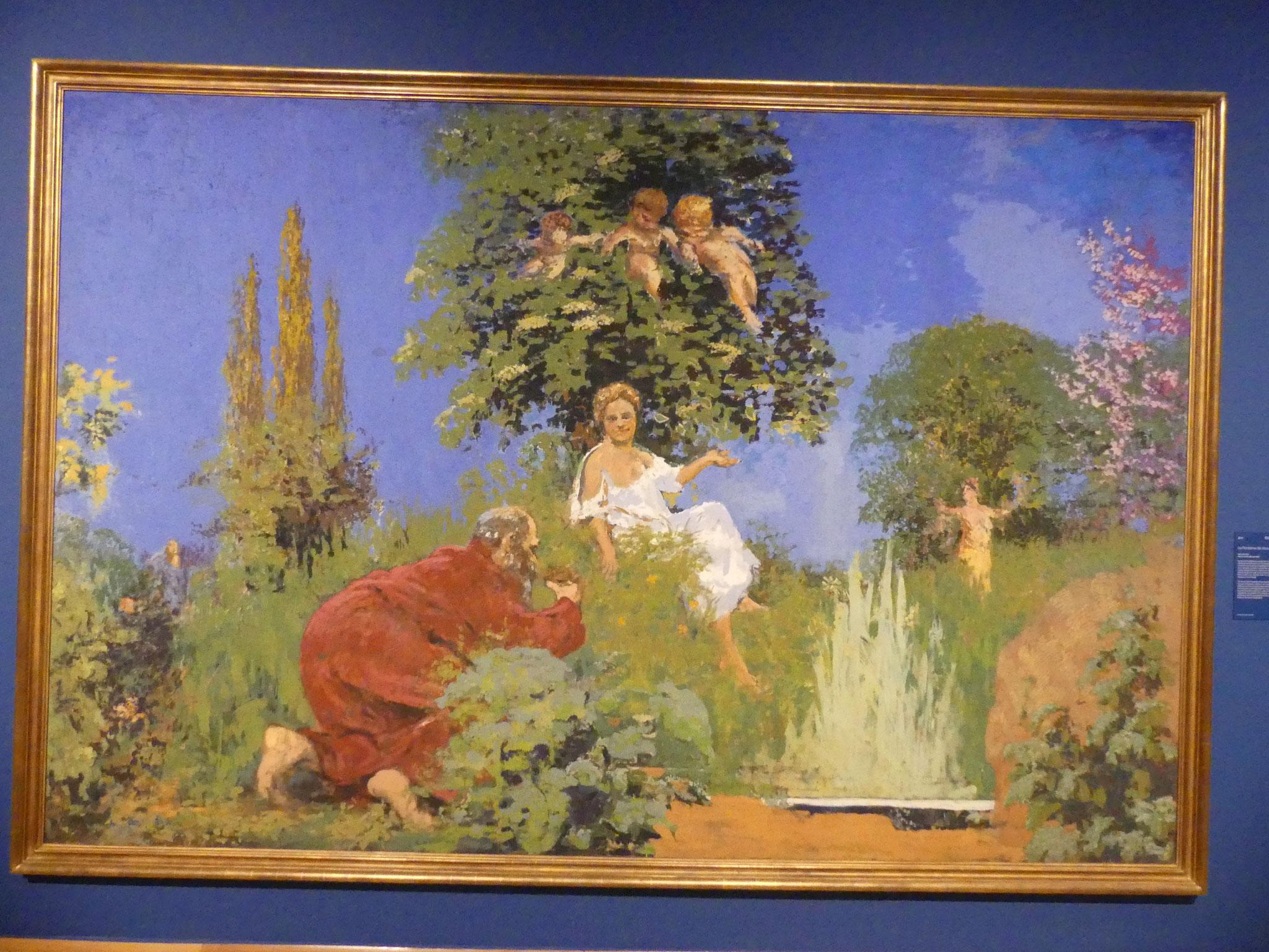 Musée des impressionnistes : KER XAVIER ROUSSEL - La fontaine de Jouvence