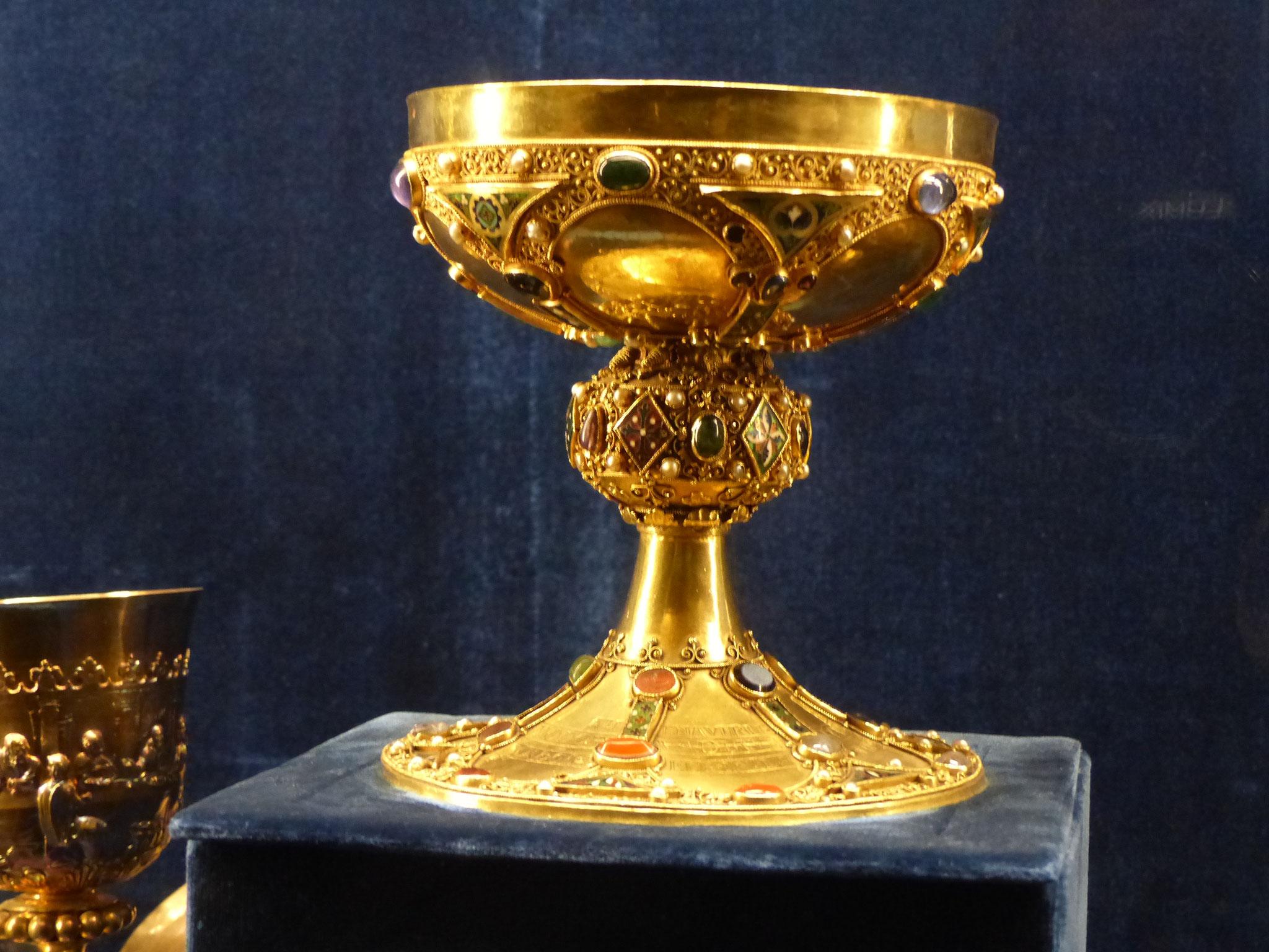 Calice du sacre des rois de France