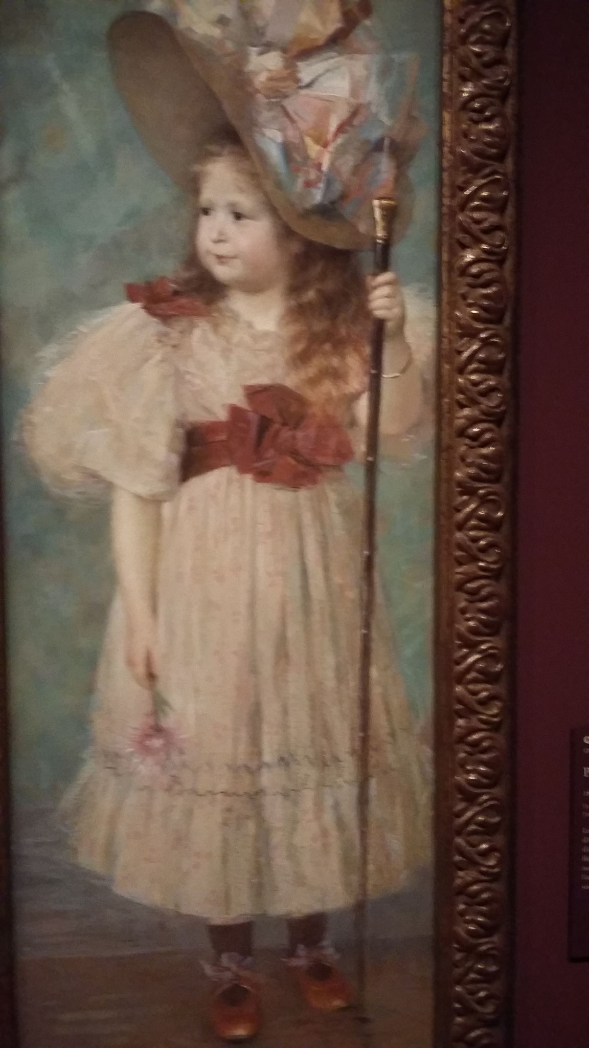Portrait Yvonne Gouverné 1893 - Charles Léande