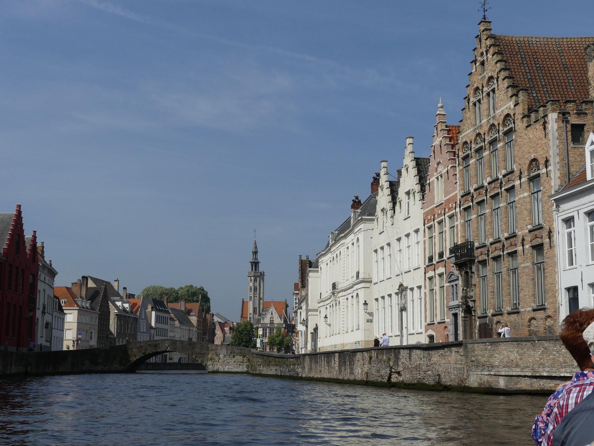 Vue de notre restaurant : Canal de Gand