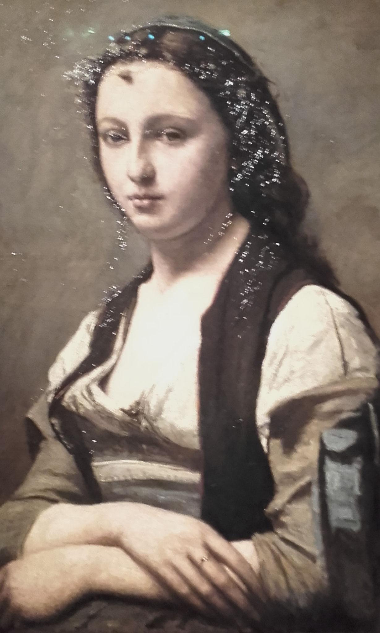 La femme à la perle