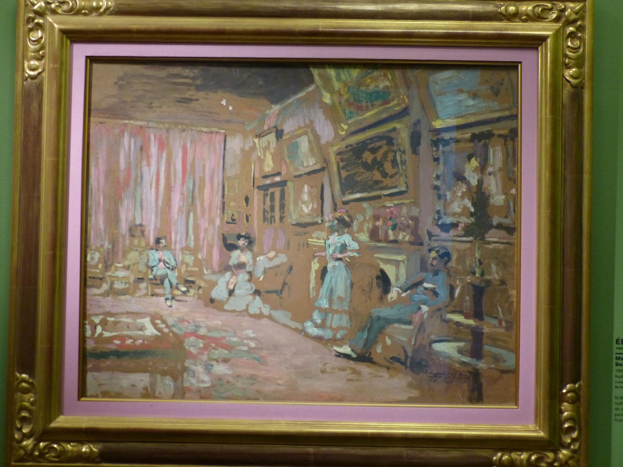 Edouard Vuillard - MM. Mmes Josse et Gaston Bernheim jeune