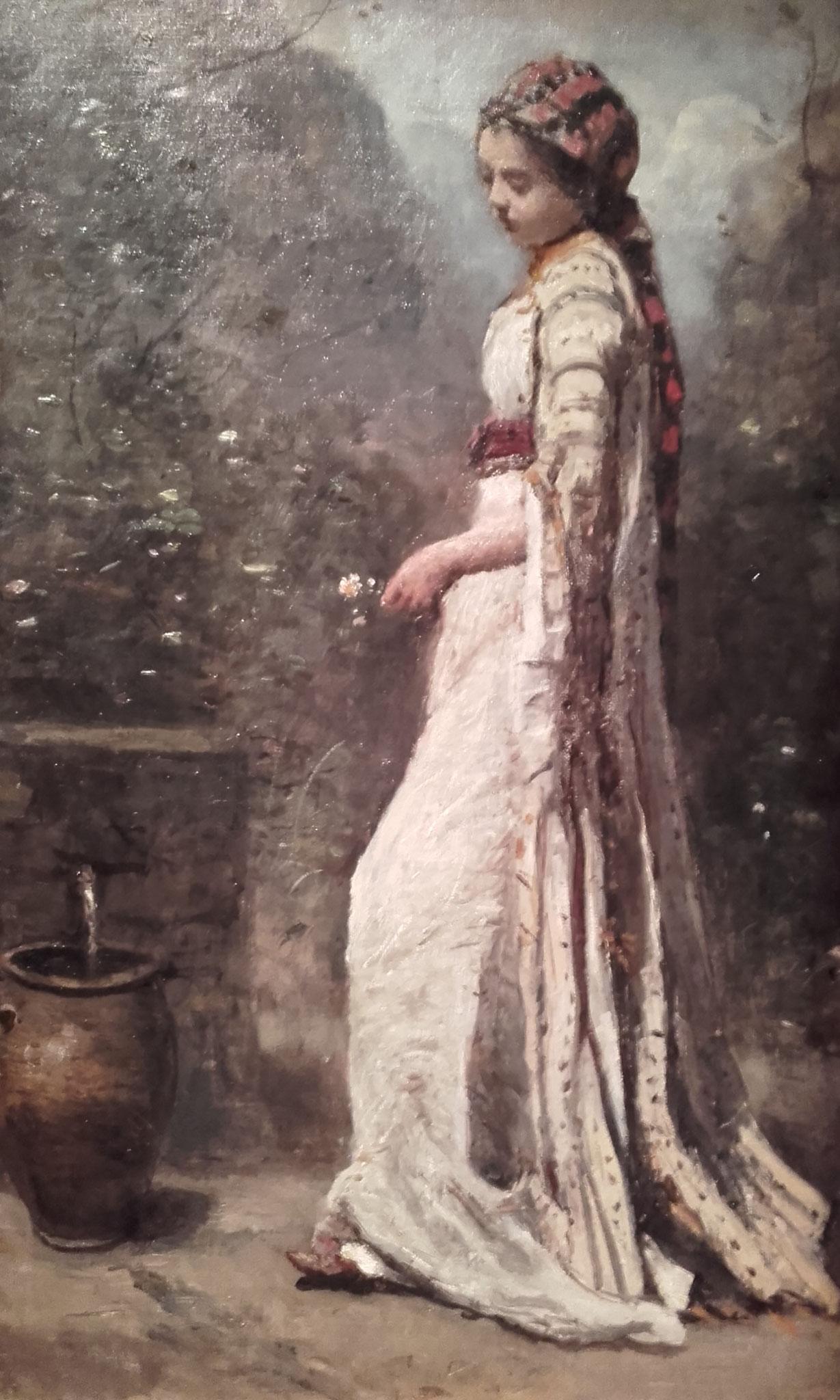Jeune fille grecque à la fontaine